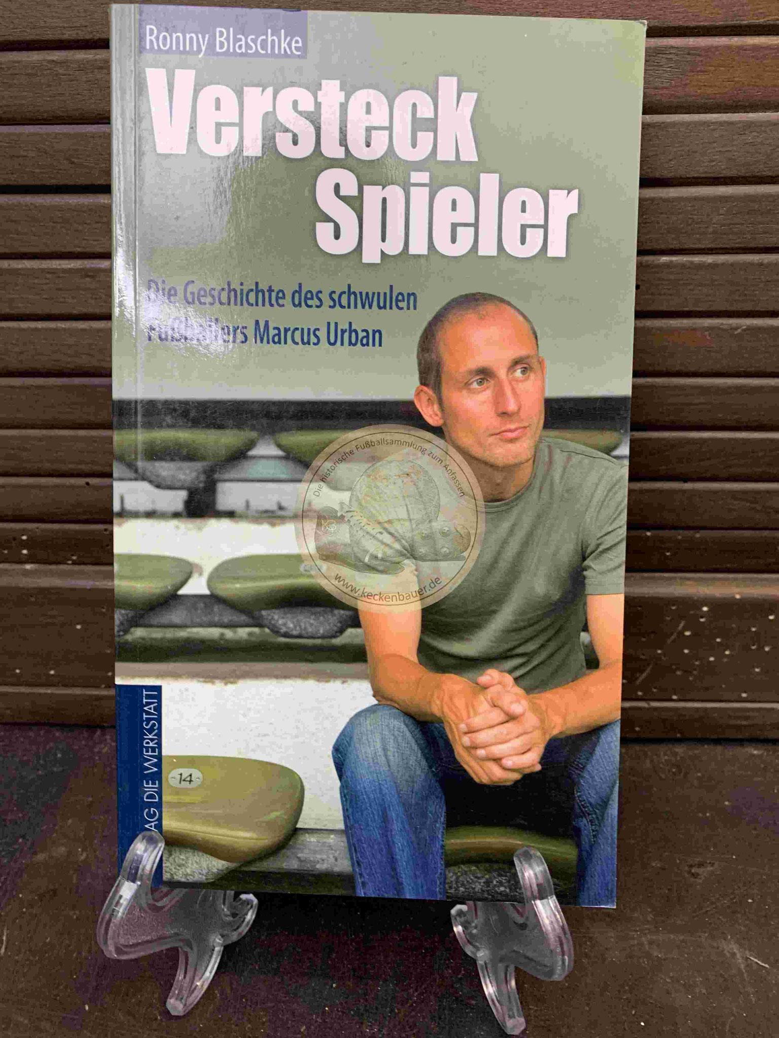 Ronny Blaschke Versteck Spieler signiert aus dem Jahr 2008