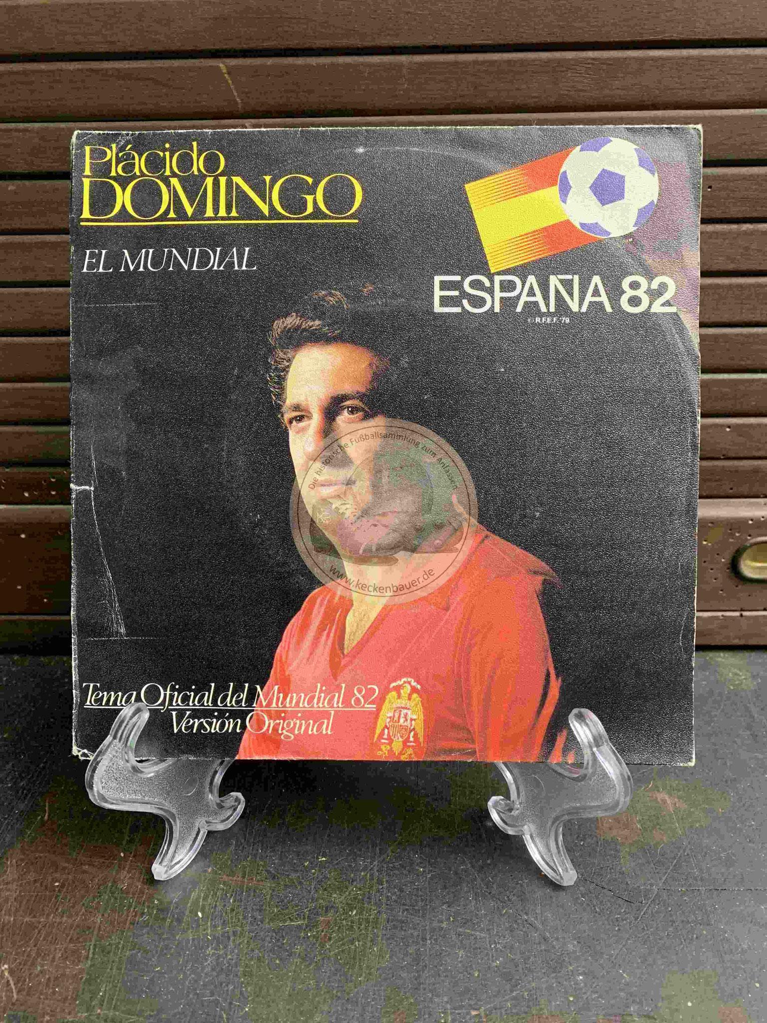 1982 Placido Domingo El Mundial Espana 82