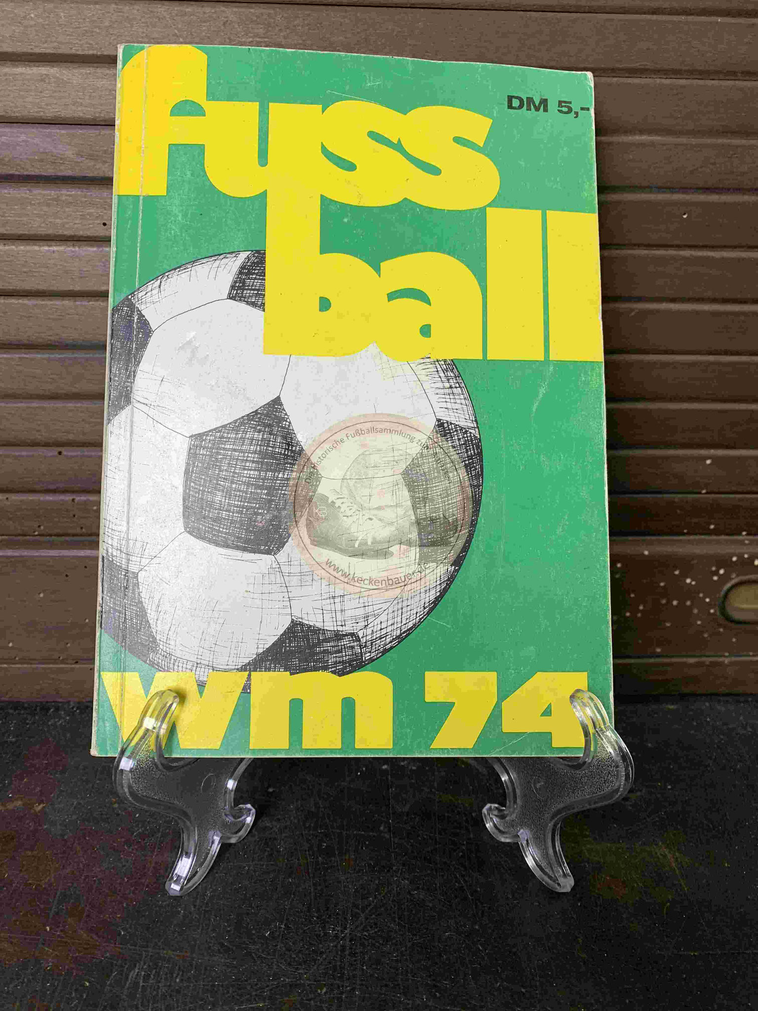 Fussball WM 74