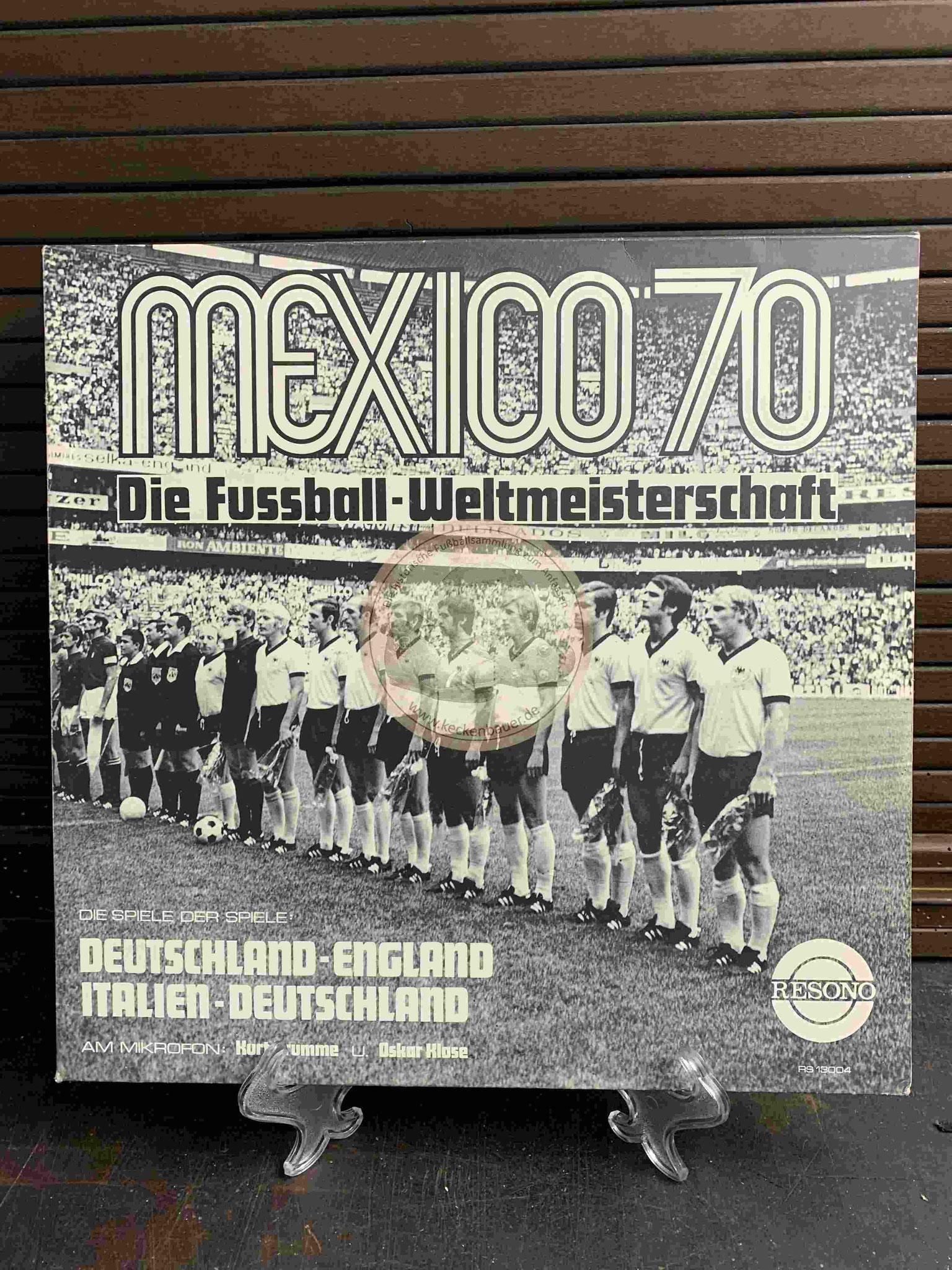 1970 Mexico 70 Die Fussball-Weltmeisterschaft s/w