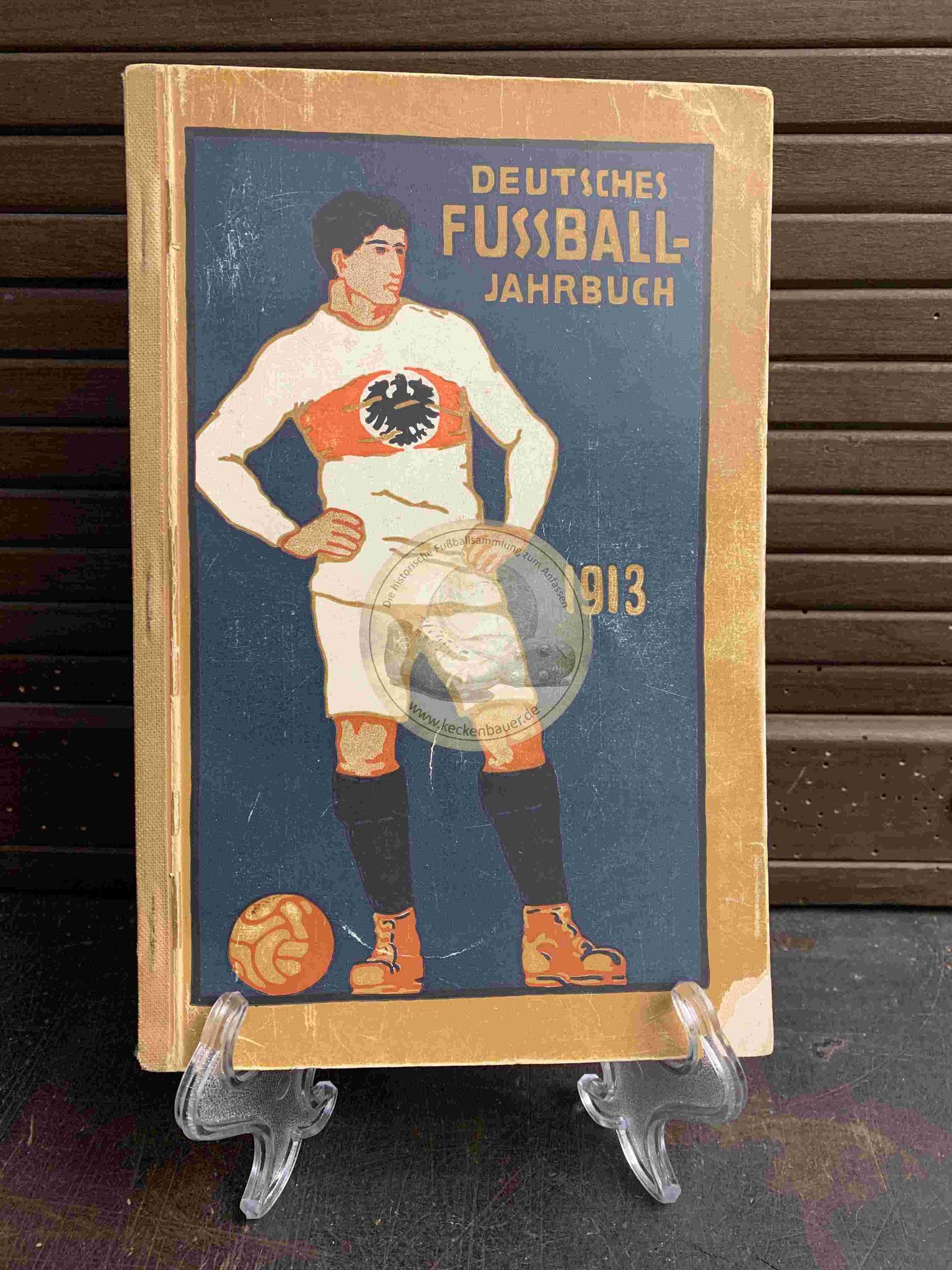 Deutsche Fußball Jahrbuch vom DFB aus dem Jahr 1913