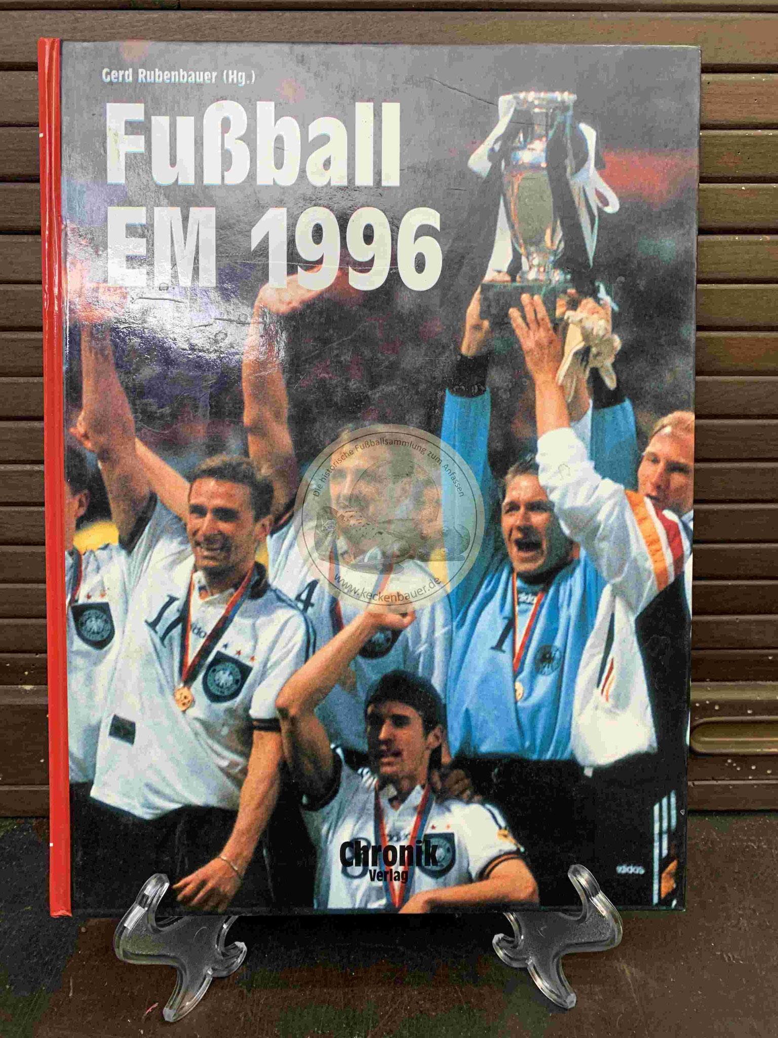Fußball EM 1996 vom Chronik Verlag.