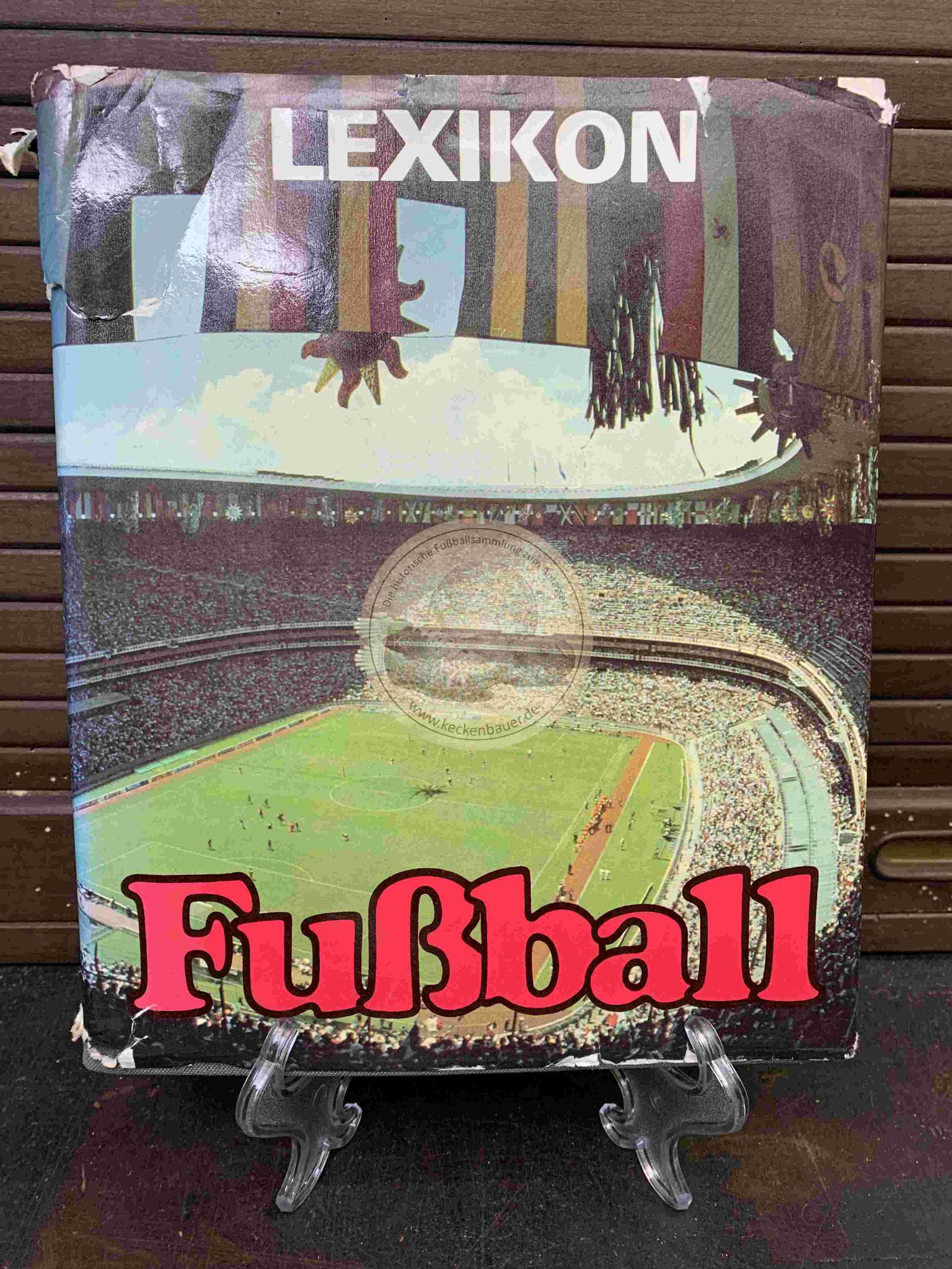 Lexikon Fußball aus dem Jahr 1987