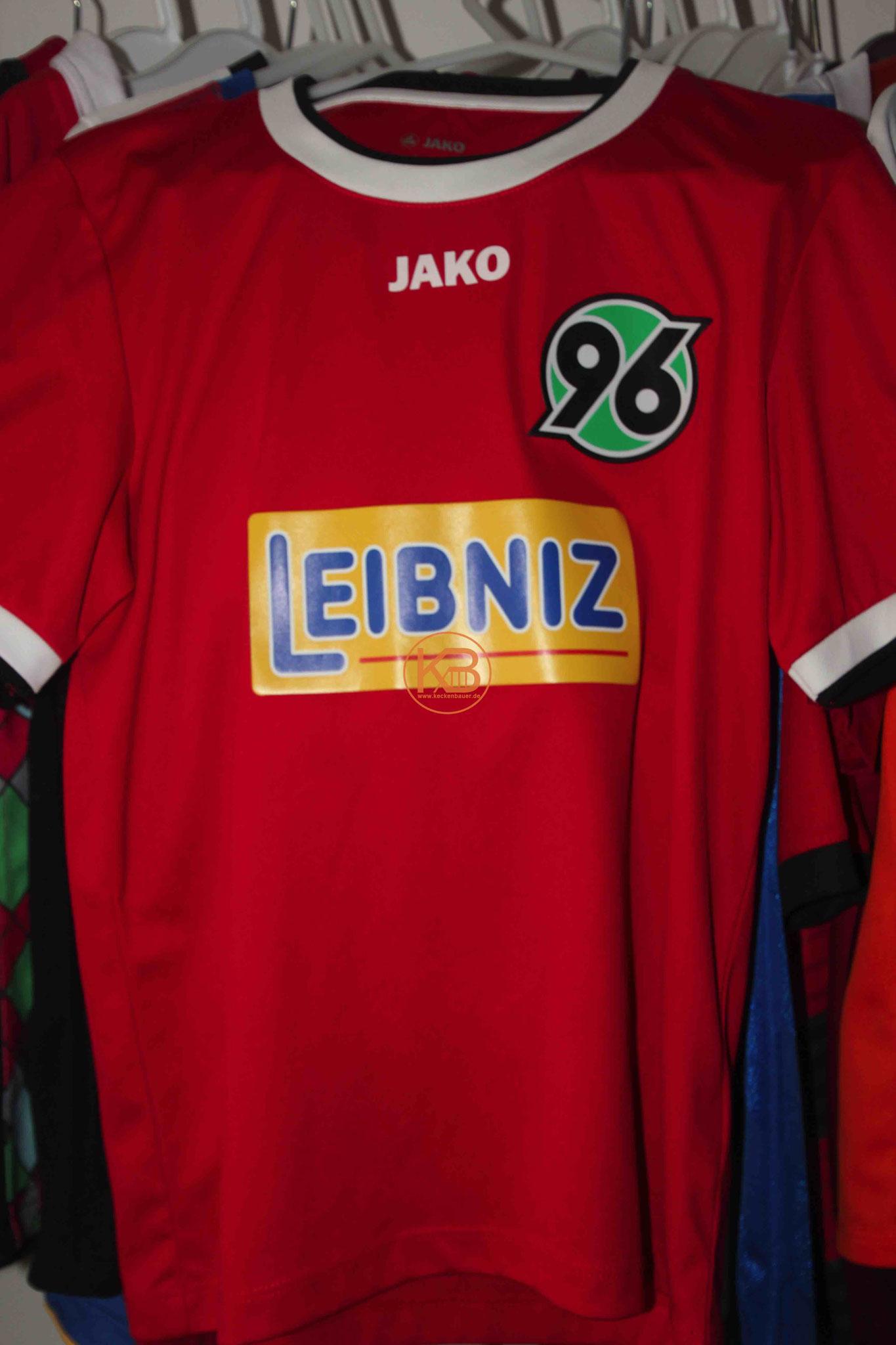 Jako Trikot der Hannover 96 Einlaufkids (leider nicht selbst eingelaufen)