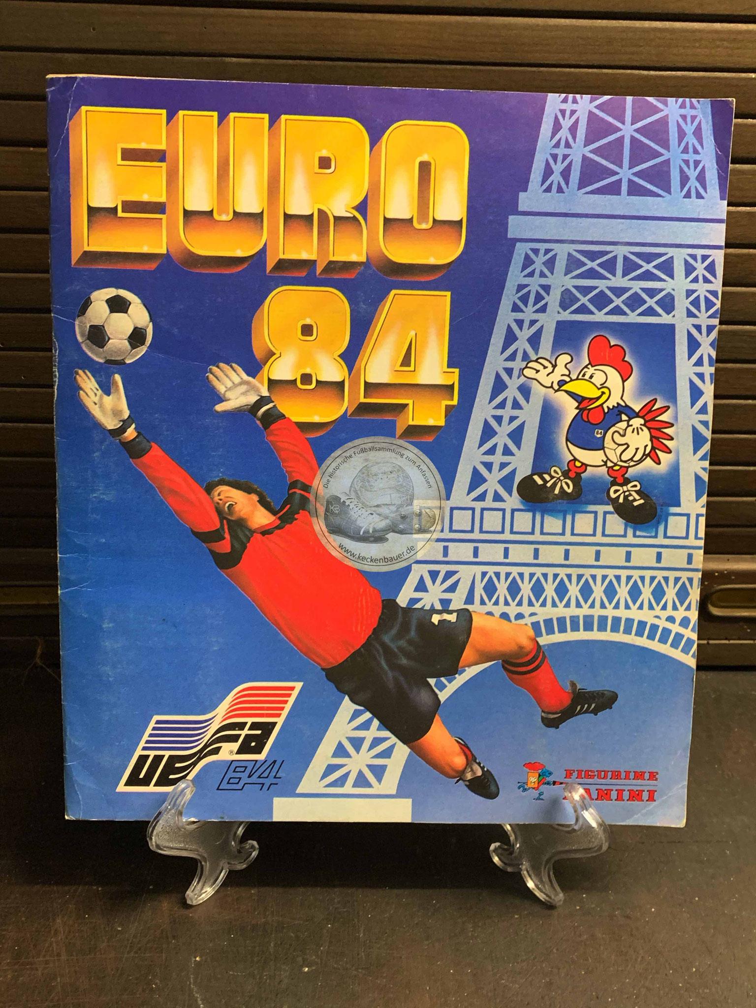 Panini Album von der EM 1984 in Frankreich