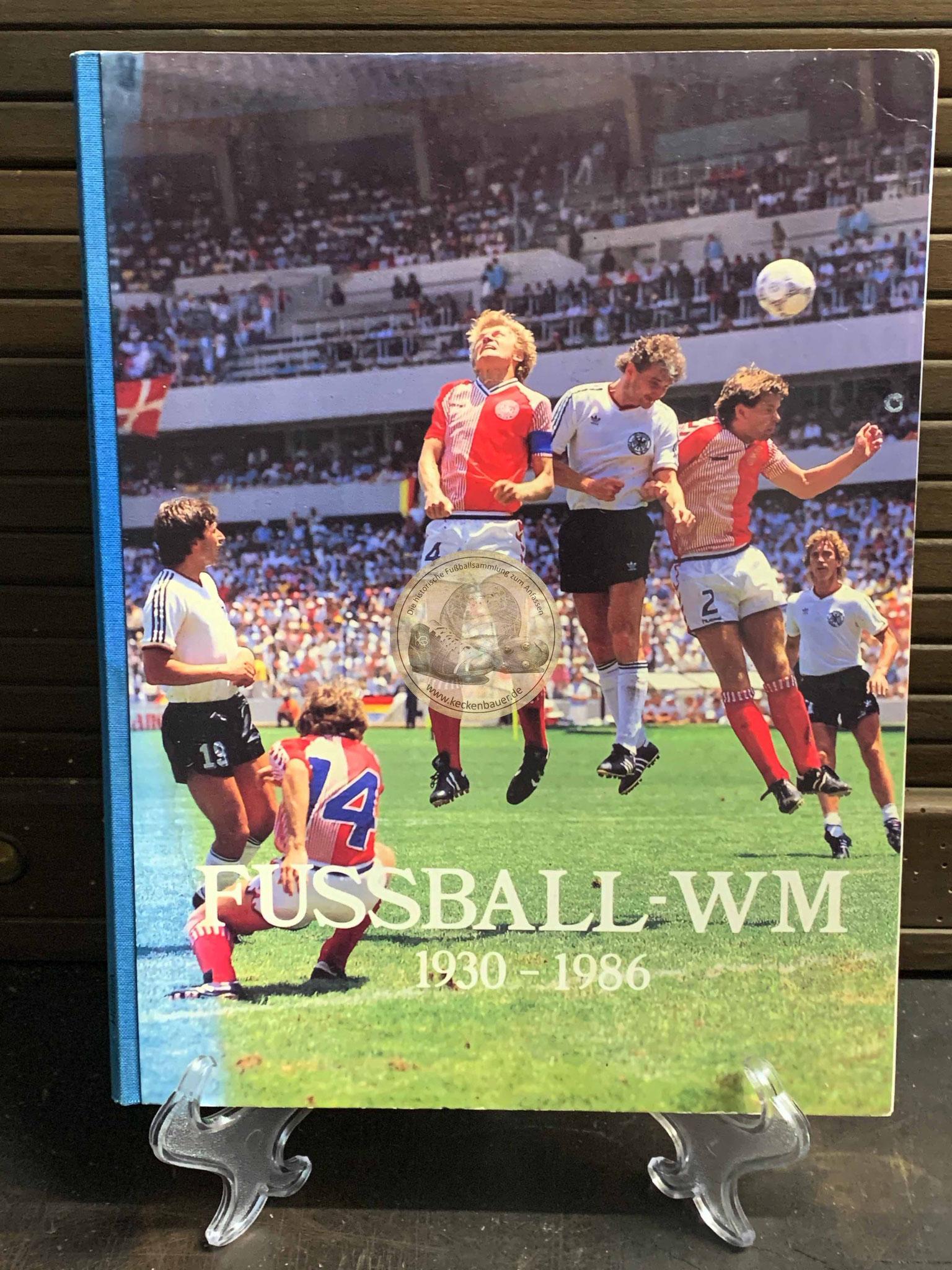 Fußball WM 1930-1986 Sammelalbum vom Herba-Verlag