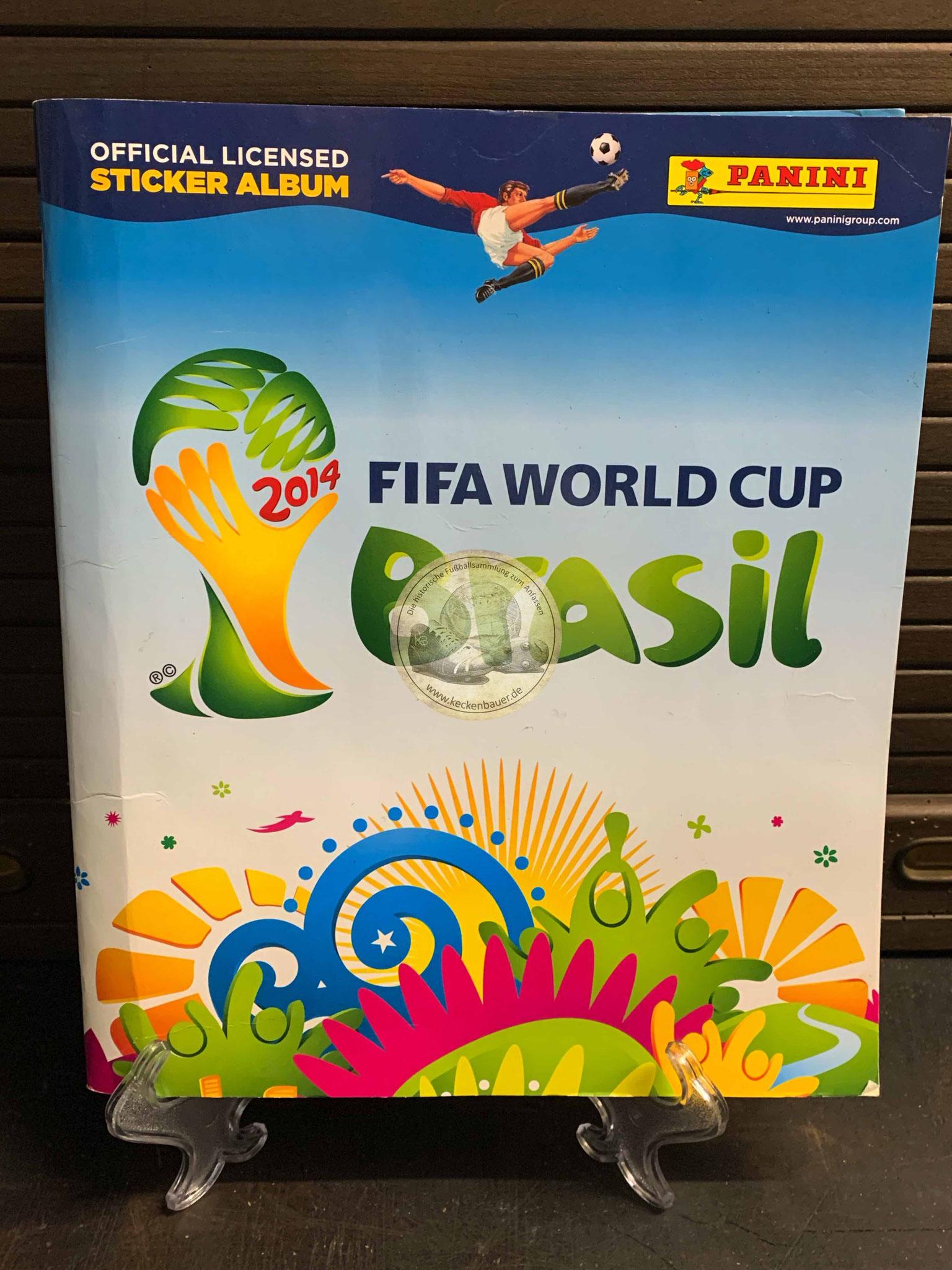 Panini Album von der WM 2014 in Brasilien