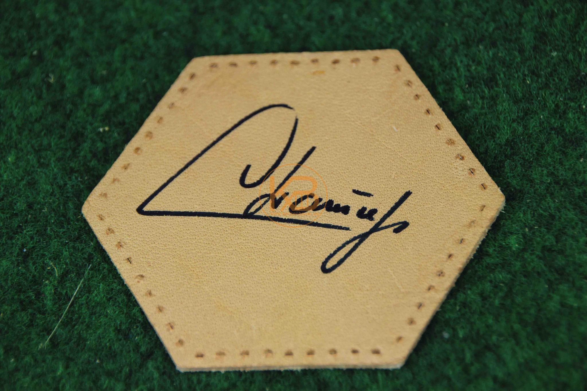 """Original Autogramm von Rüdiger """"Abi"""" Abramczik"""