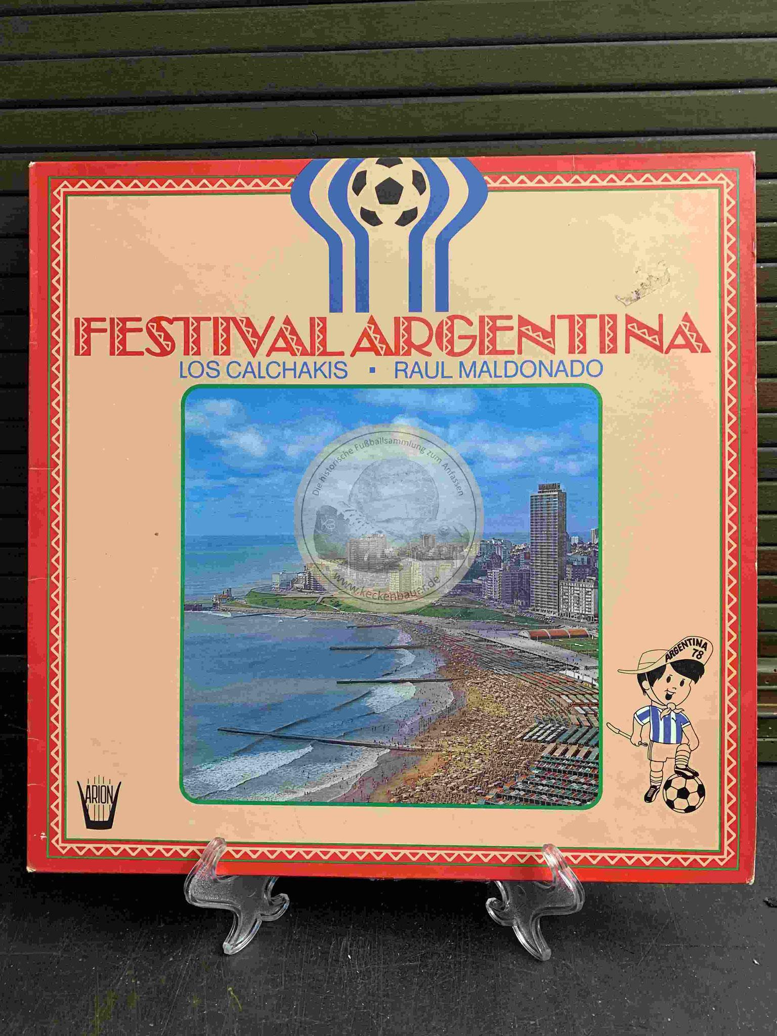 1978 Festival Argentina Los Calchakis Raul Maldonado