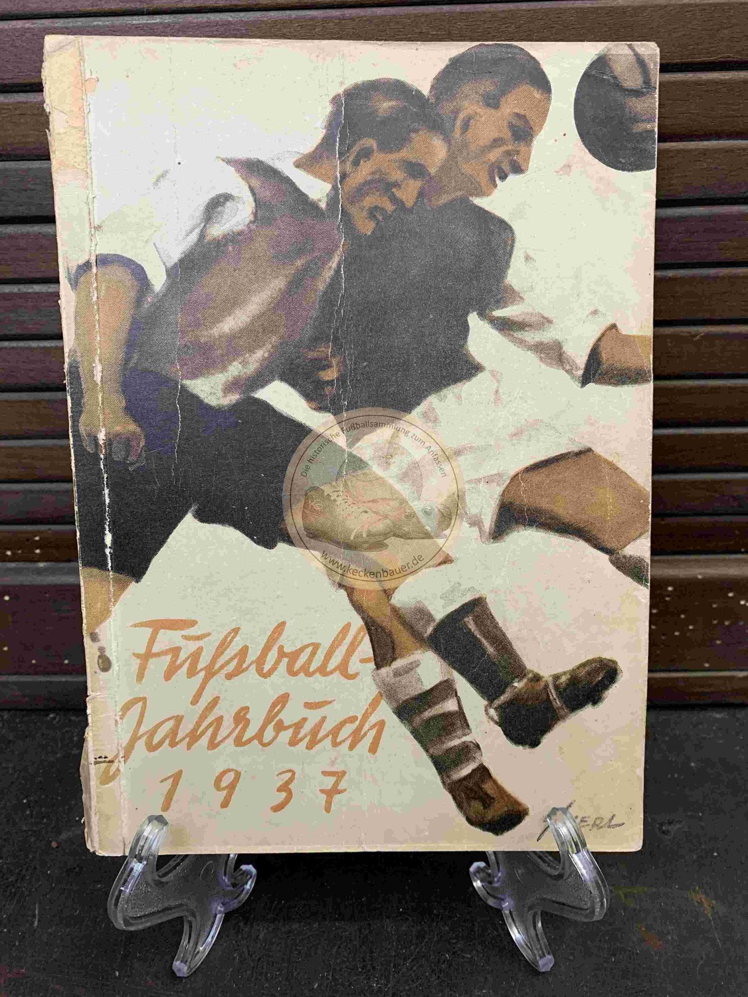 DFB Jahrbuch aus dem Jahr 1937