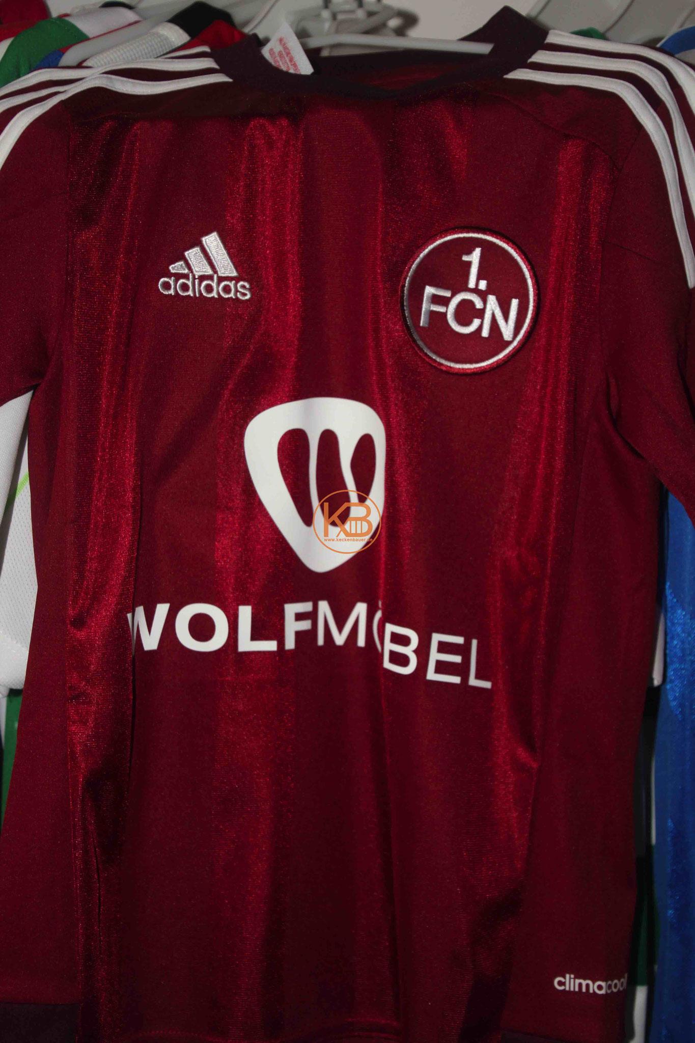 Adidas Trikot vom 1. FC Nürnberg