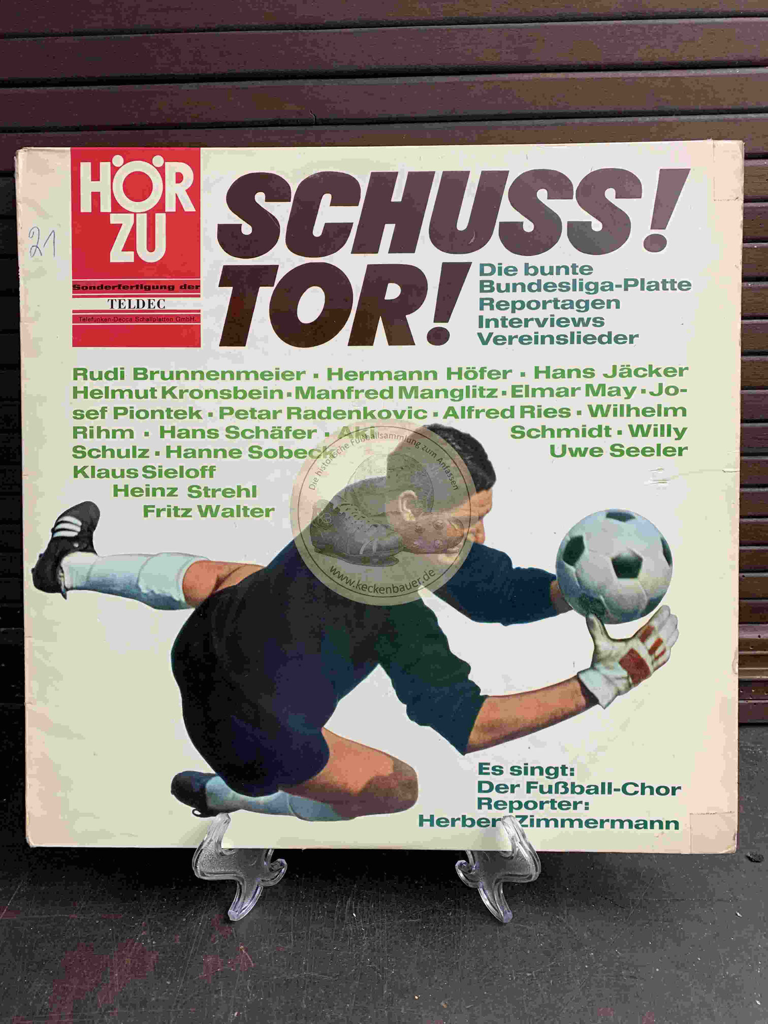 1964 Schuss! Tor! Die bunte Bundesliga-Platte Reportagen Interviews Vereinslieder