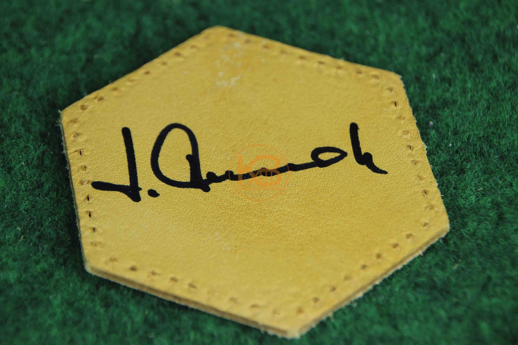 """Original Autogramm von Josef """"Jupp"""" Derwall"""