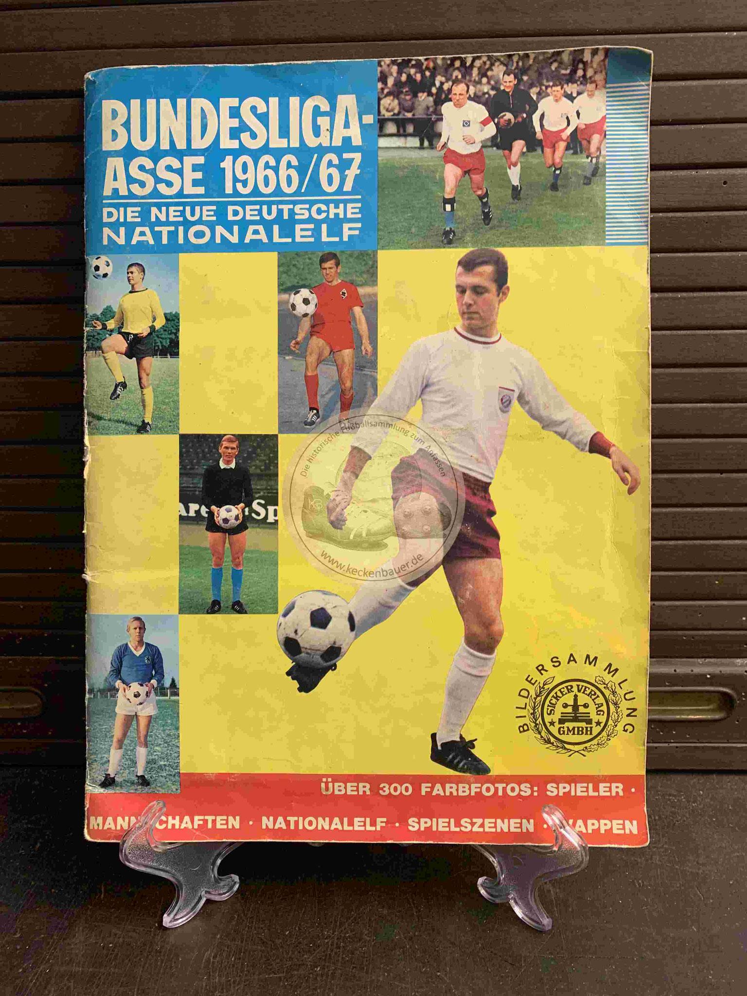 1966 Bundesliga-Asse 1966-67 Die neue deutsche Nationalmannschaft