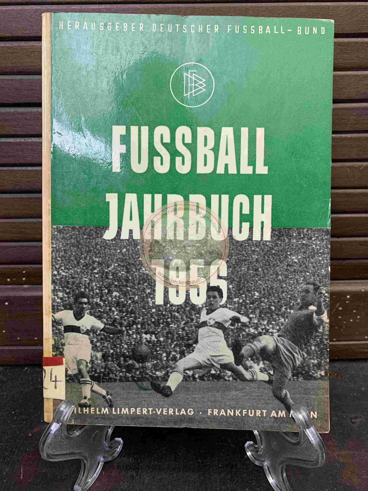 Fussball Jahrbuch 1956 Herausgeber Deutscher Fußballbund