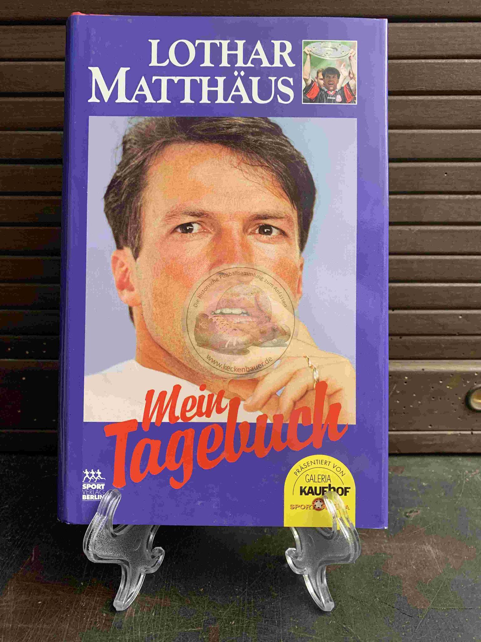 Lothar Matthäus Mein Tagebuch aus dem Jahr 1997