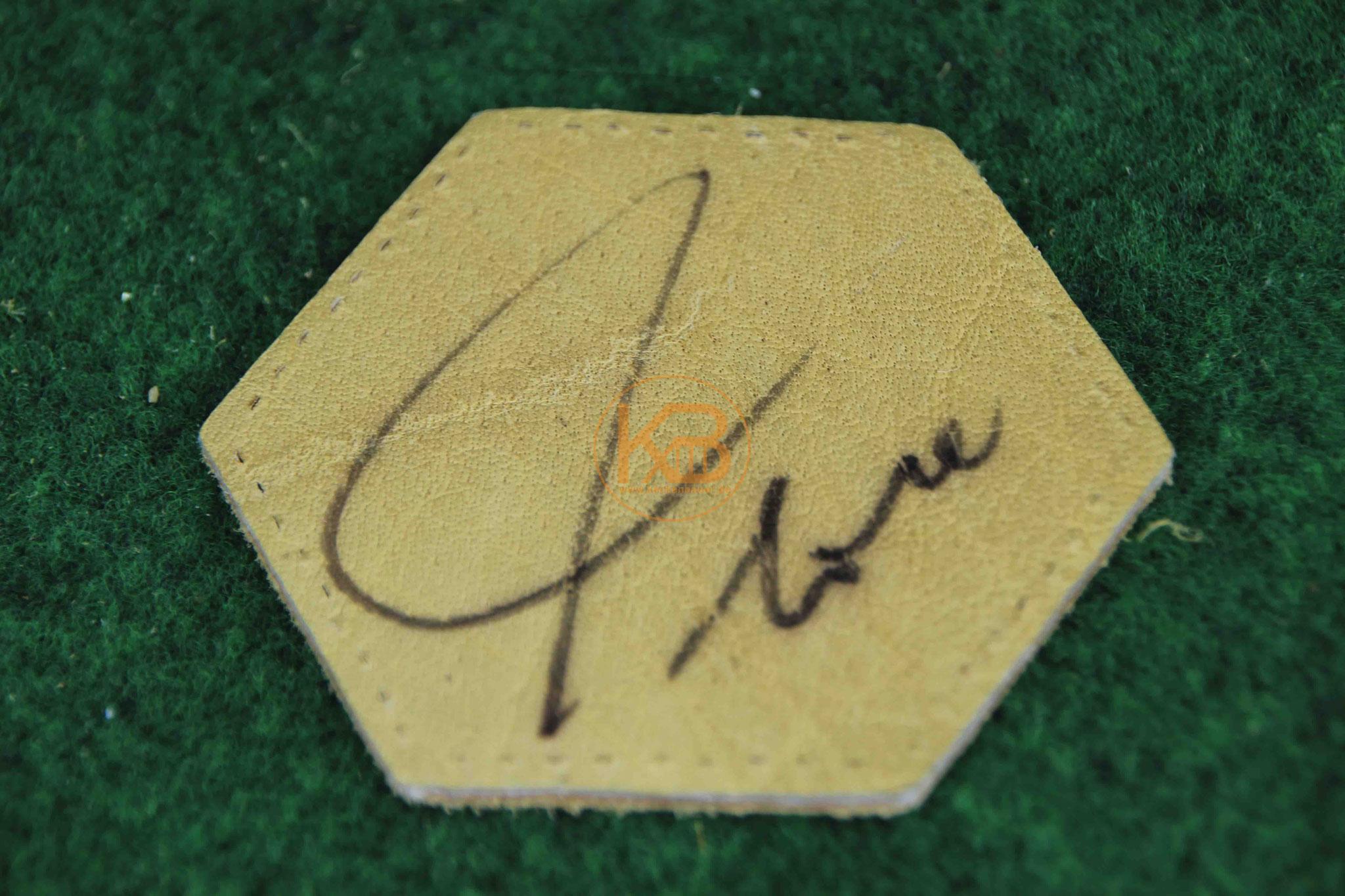 """Original Autogramm von Heinz """"Flocke"""" Flohe"""