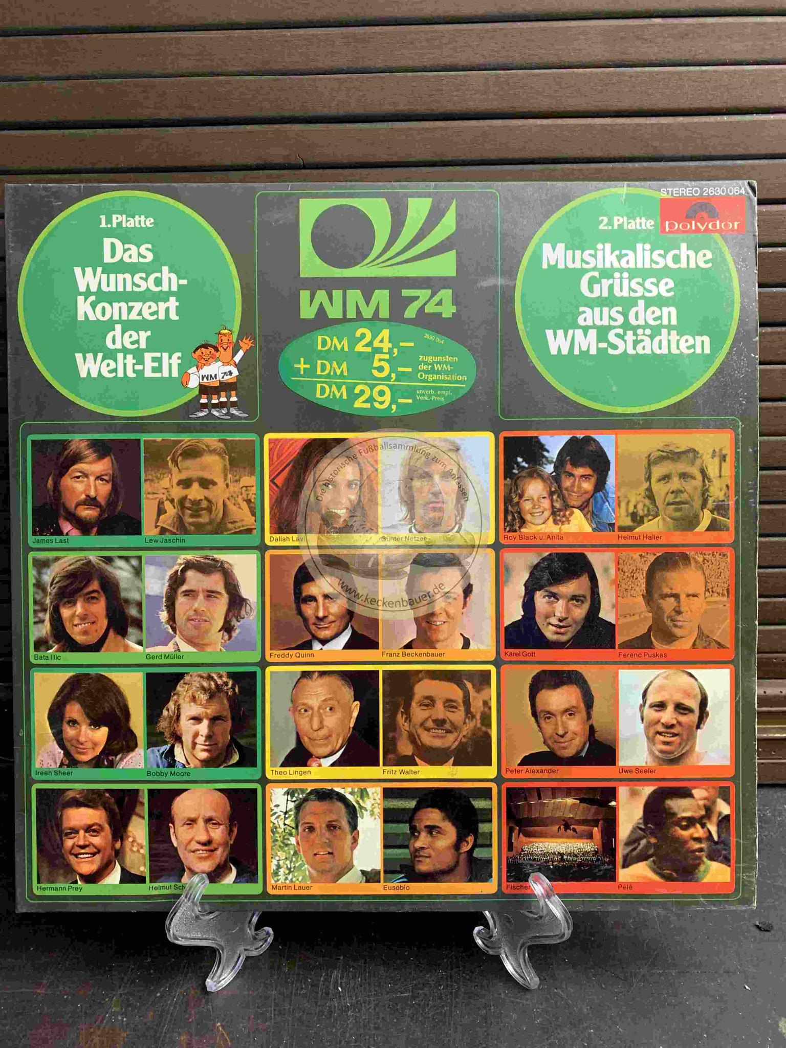 1974 Das Wunschkonzert der Welt-Elf