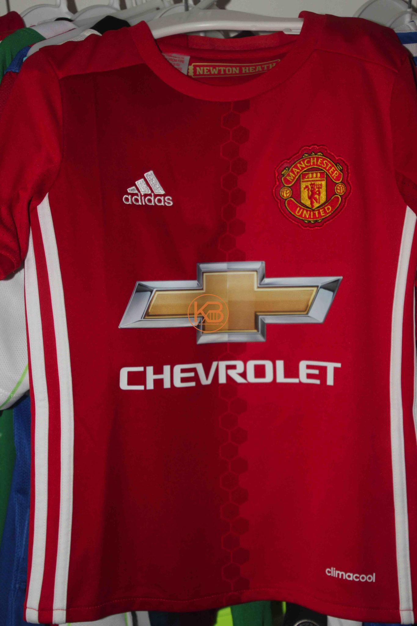 Adidas Trikot von Manchester United