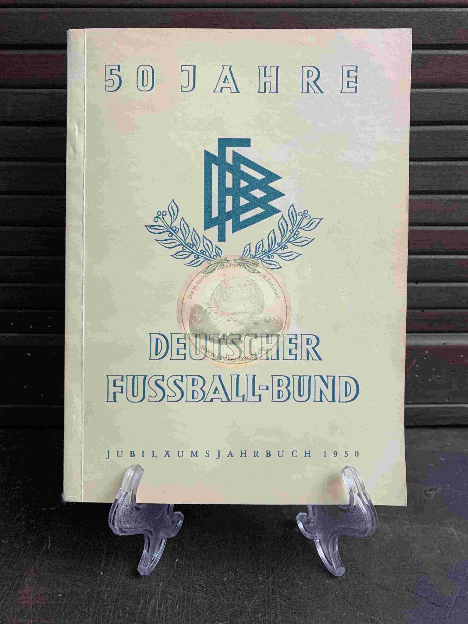 Jubiläumsjahrbuch des DFB aus dem Jahr 1950