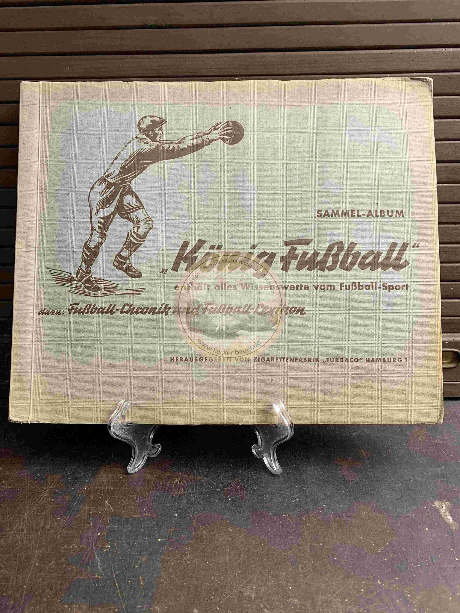 1938 König Fußball von Union-Cicarettenfabrik Dresden