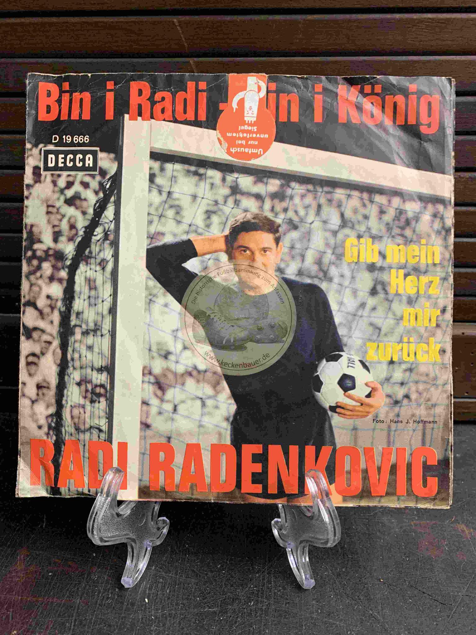 "1965 Single Platte ""Bin I Radi bin I König"""