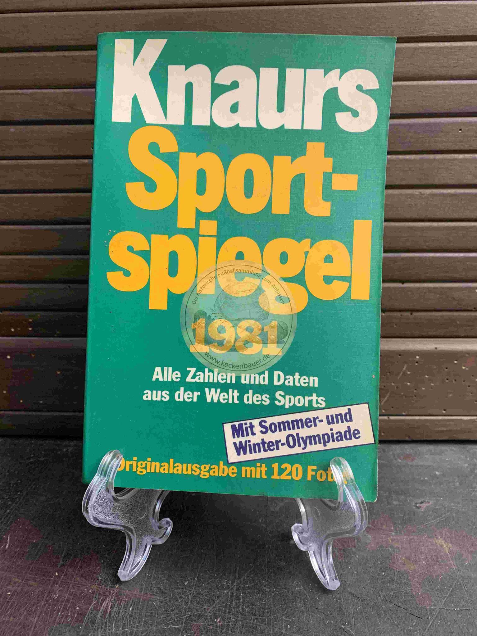 Knaurs Sport Spiegel 1981