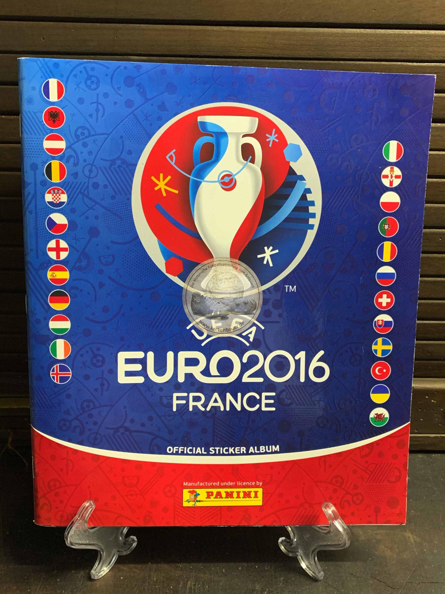 Panini Album von der EM 2016 in Frankreich