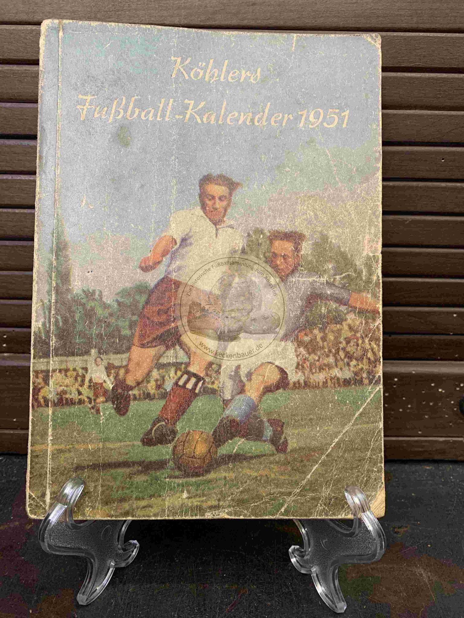 Köhlers Fußball Kelender 1951