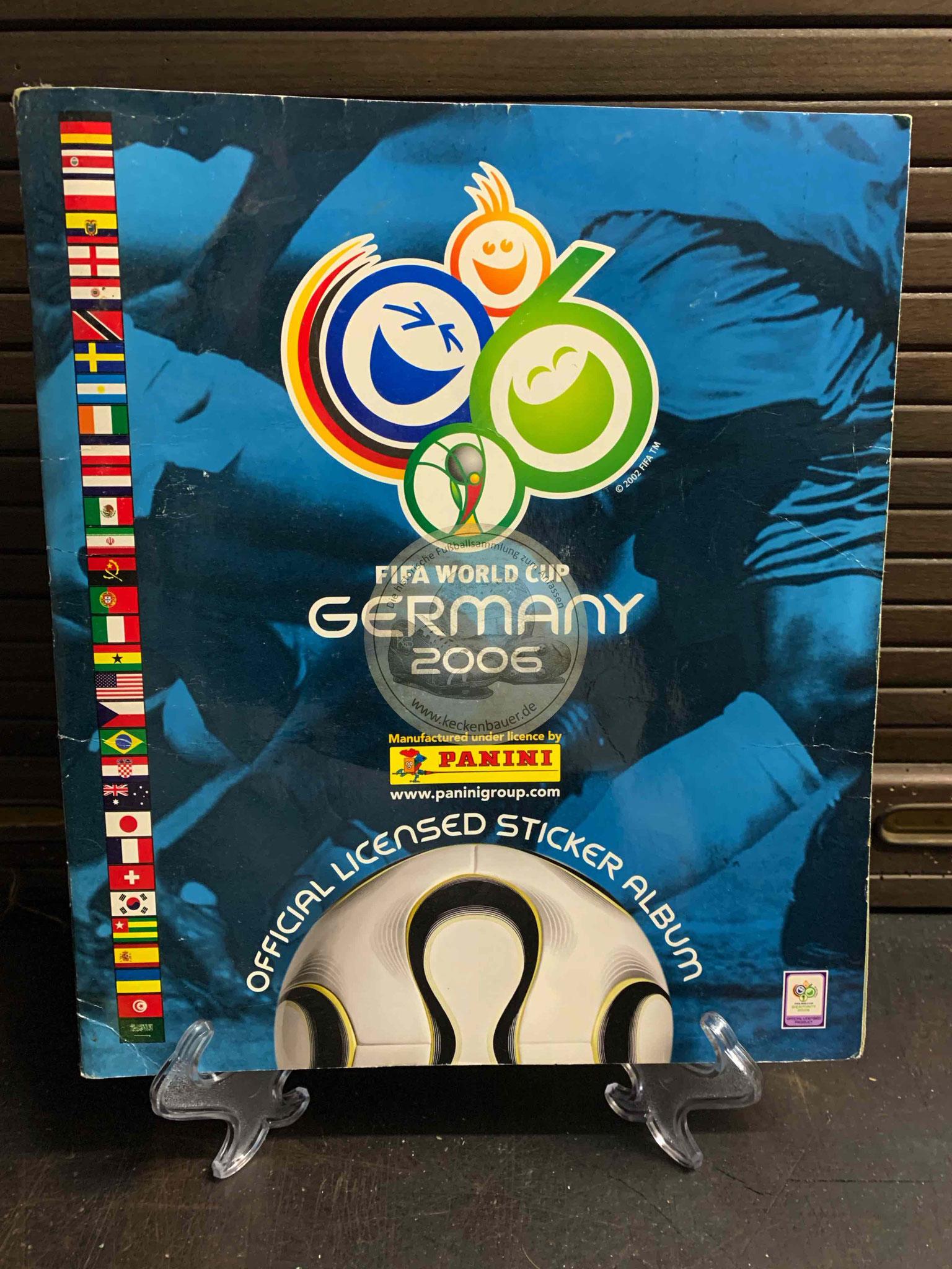 Panini Album von der WM 2006 in Deutschland