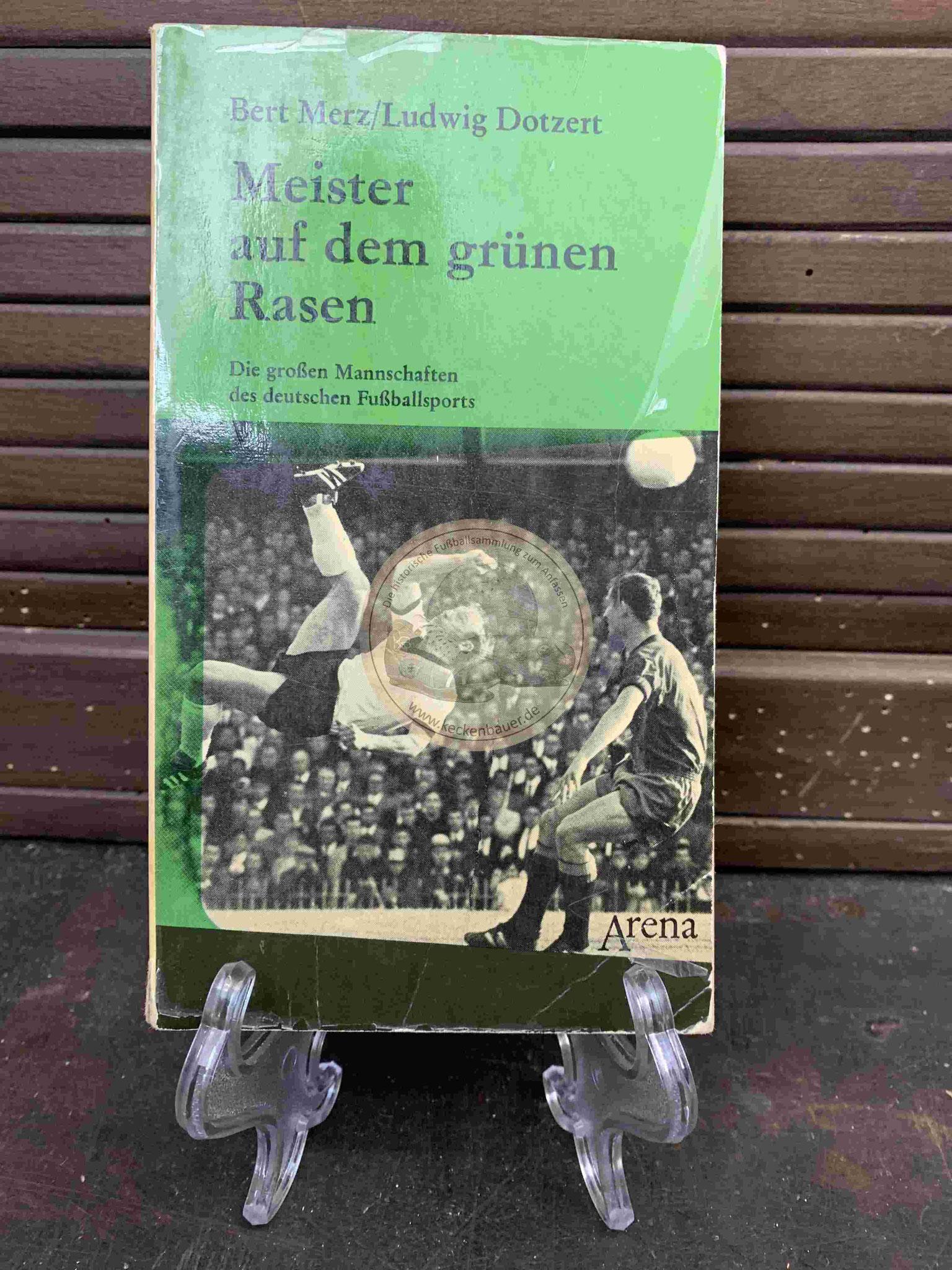 Bert Merz und Ludwig Dotiert Meister auf dem grünen Rasen aus dem Jahr 1969