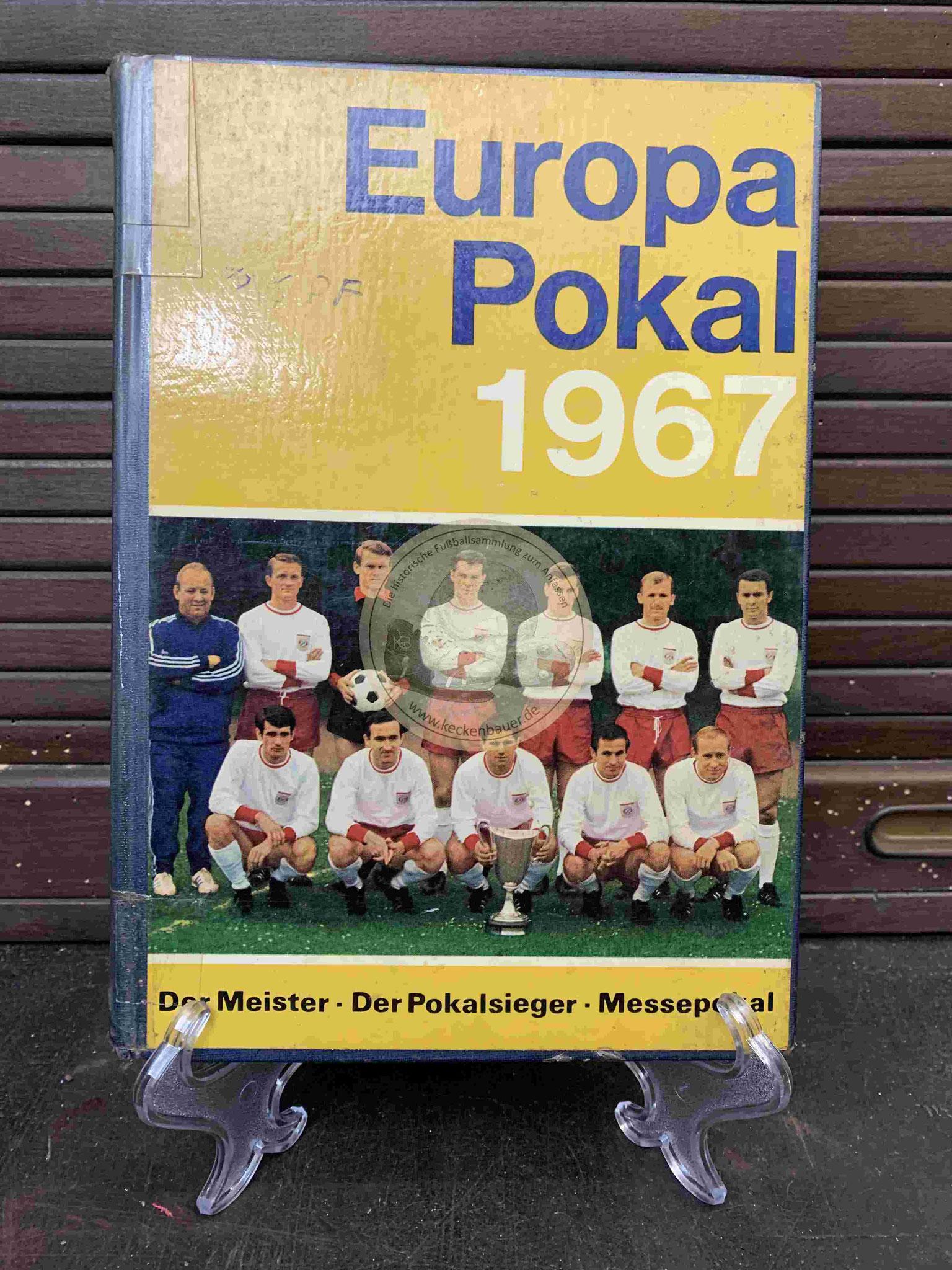 Europa Pokal 1967 Der Meister Der Pokalsieger Messepokal aus dem Jahr 1967