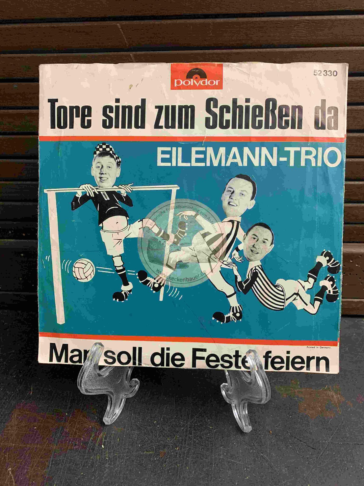 1964 Fußball-Single Tore sind zum Schießen da Eilemann-Trio Polydor