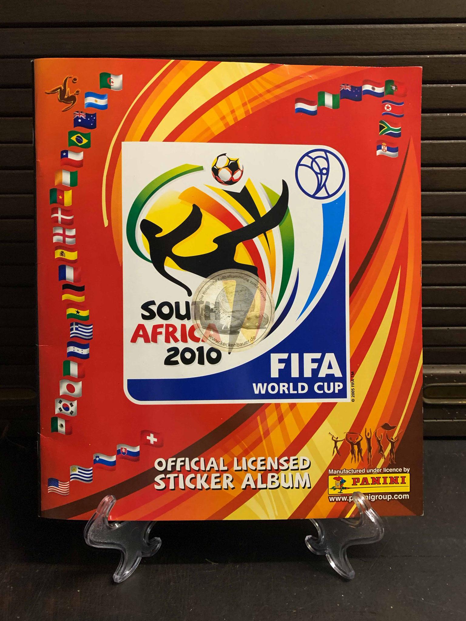 Panini Album von der WM 2010 in Südafrika