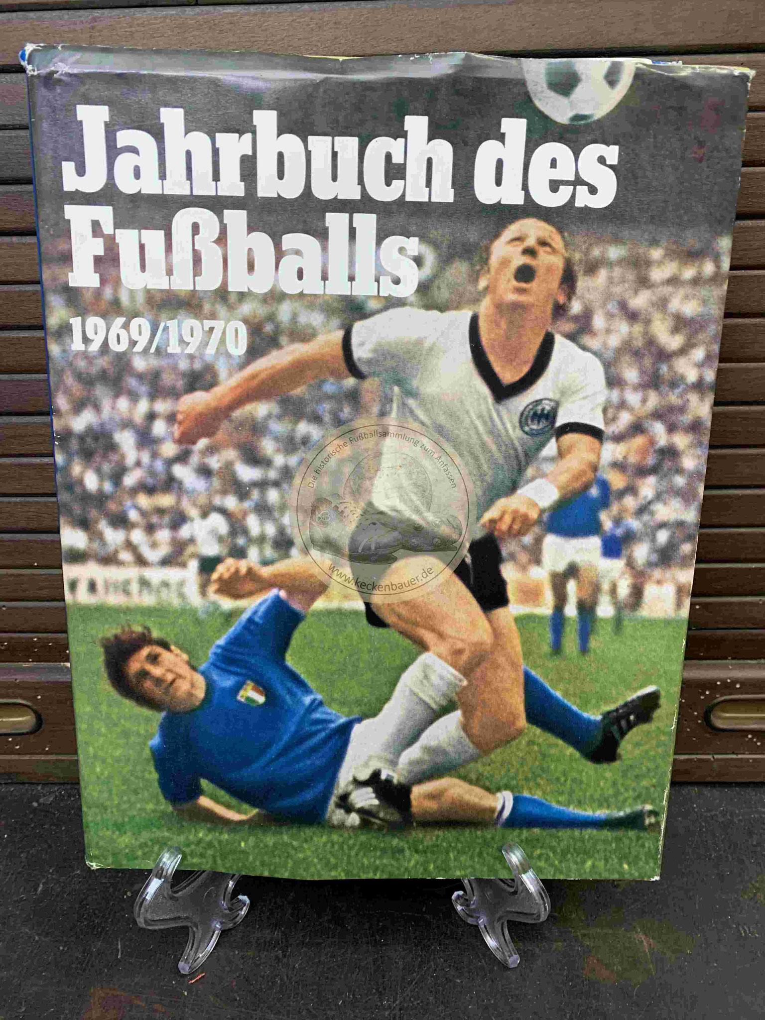 1970 Jahrbuch des Fußballs 1969/1970