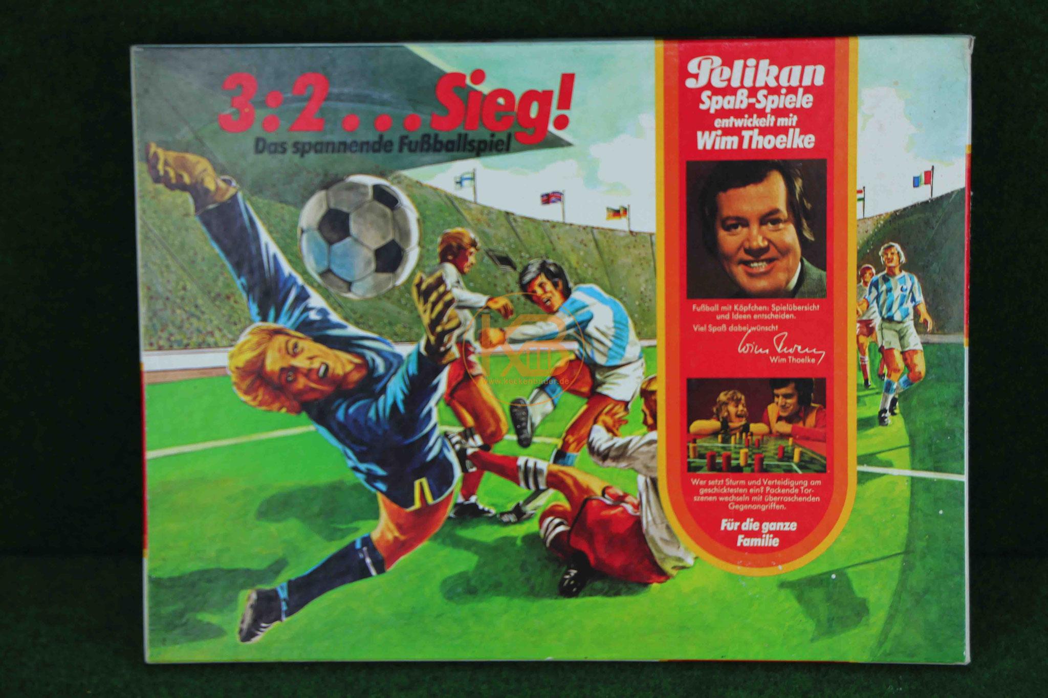 3:2...Sieg! Das spannende Fußballspiel von Wim Thoelke