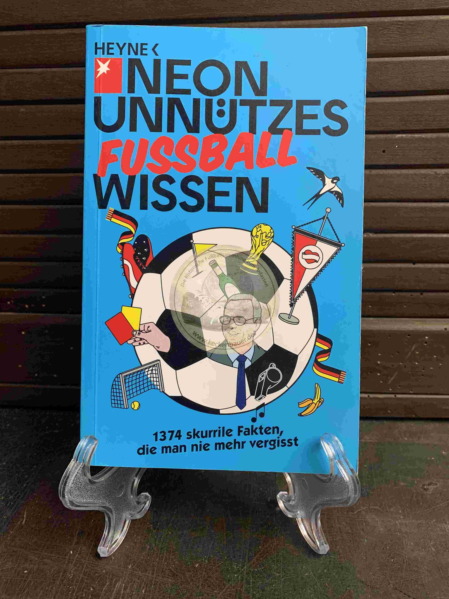 NEON Unnützes Fussball Wissen aus dem Jahr 2012