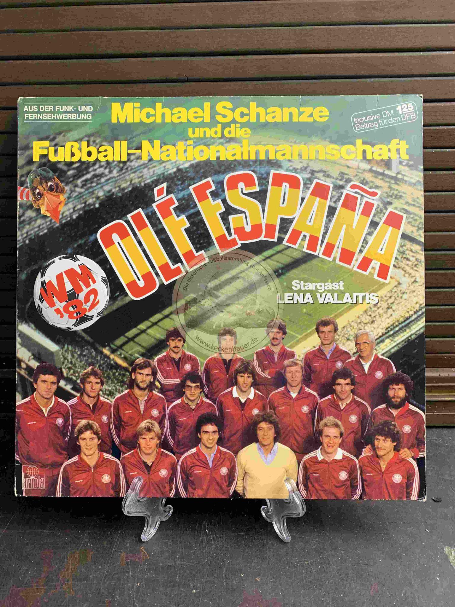 1982 Michael Schanze und das DFB-Team Ole Espana WM 82