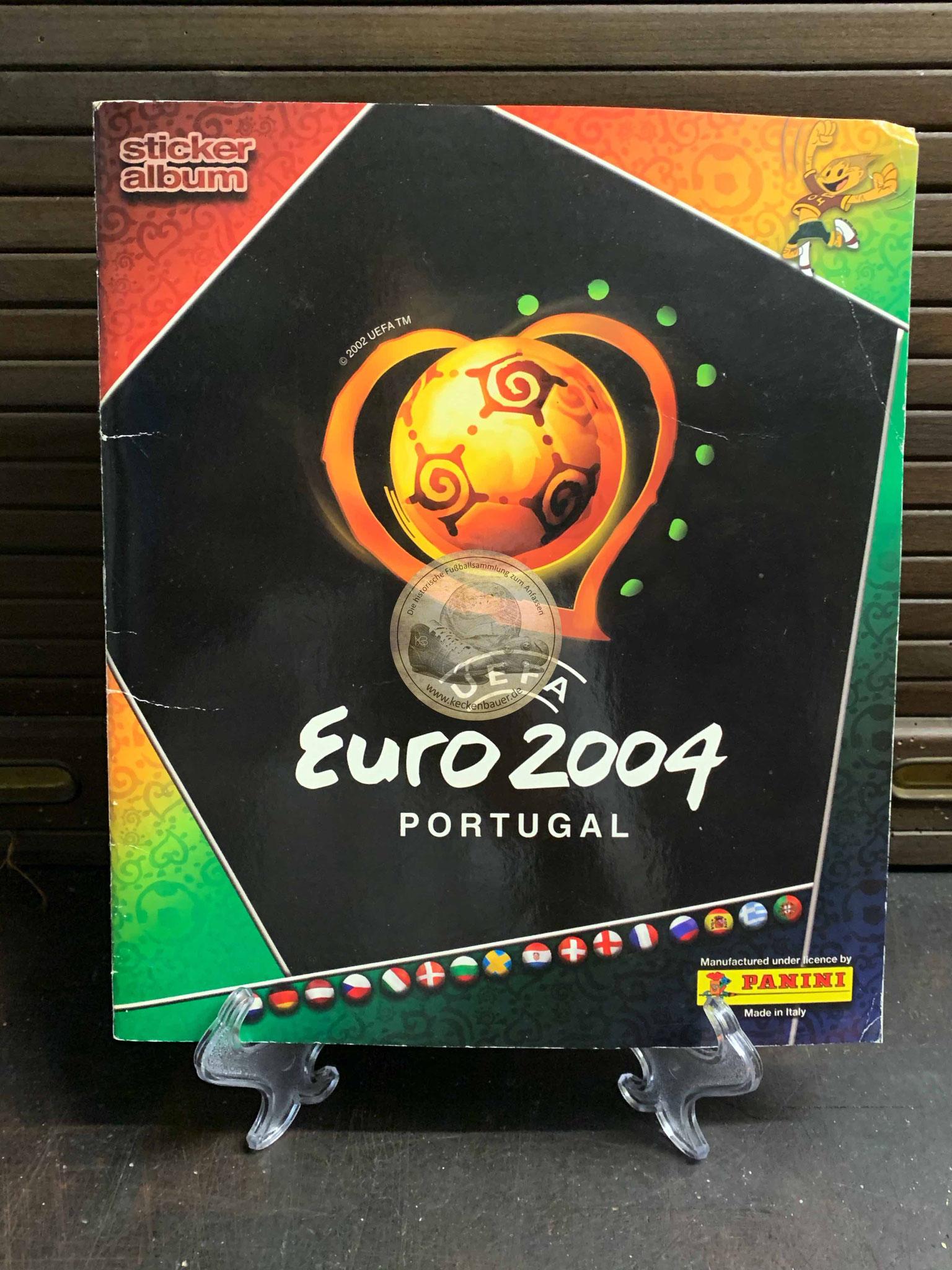 Panini Album von der EM 2004 in Portugal
