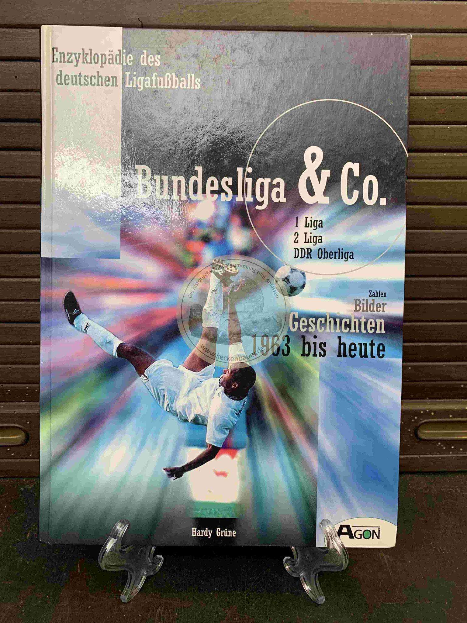 """Enzyklopädie des deutschen Ligafußballs """"Bundesliga & Co"""" aus dem Jahr 1997"""