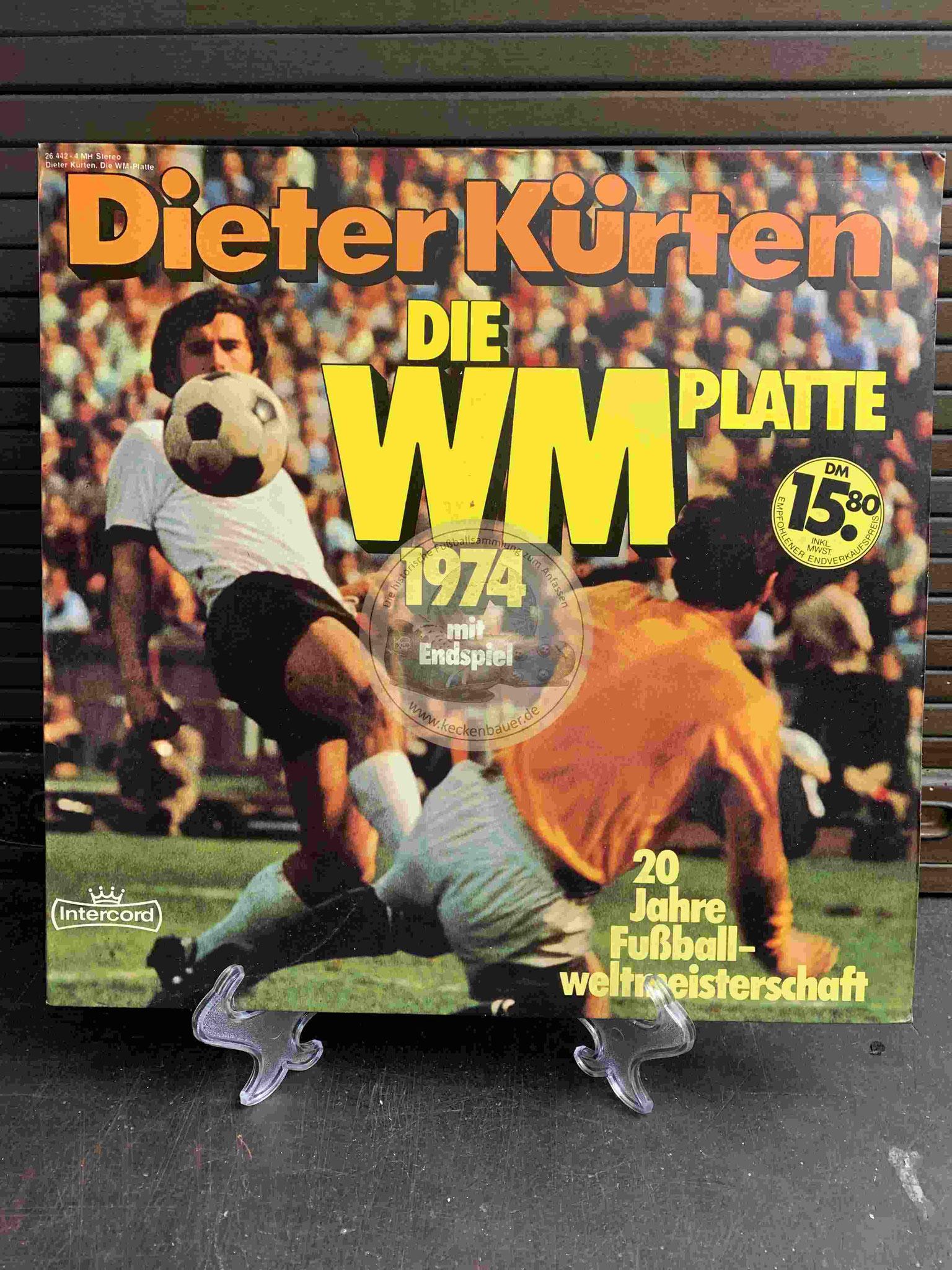 1974 Dieter Kürten Die WM Platte 1974
