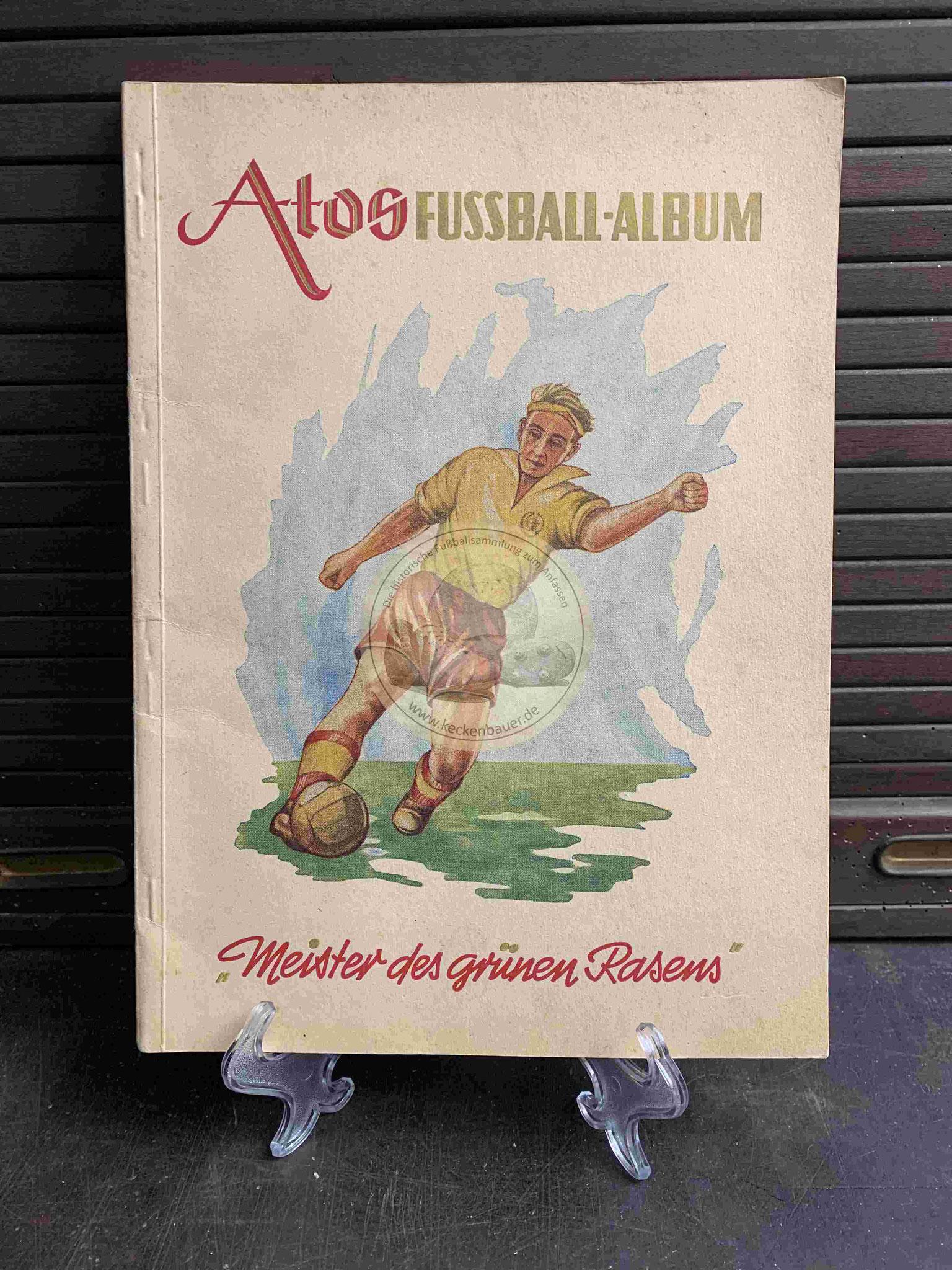 1952 ATOS Fussball-Album Meidter des grünen Rasens