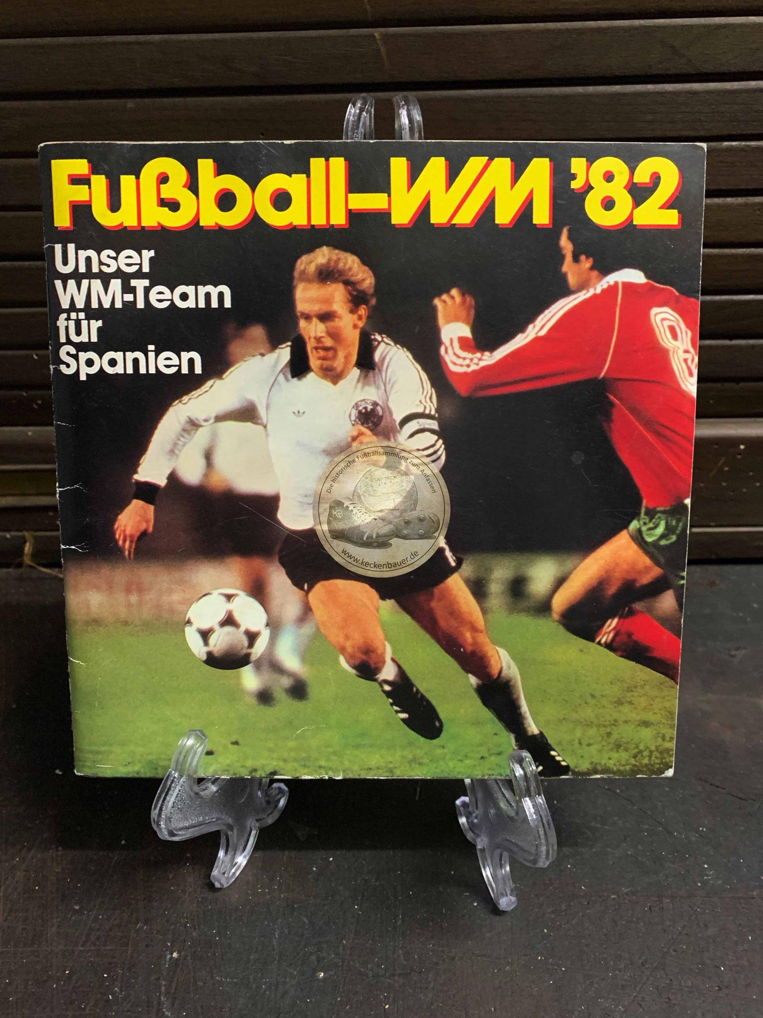 Sammelalbum Fußball WM 1982 von Ferrero