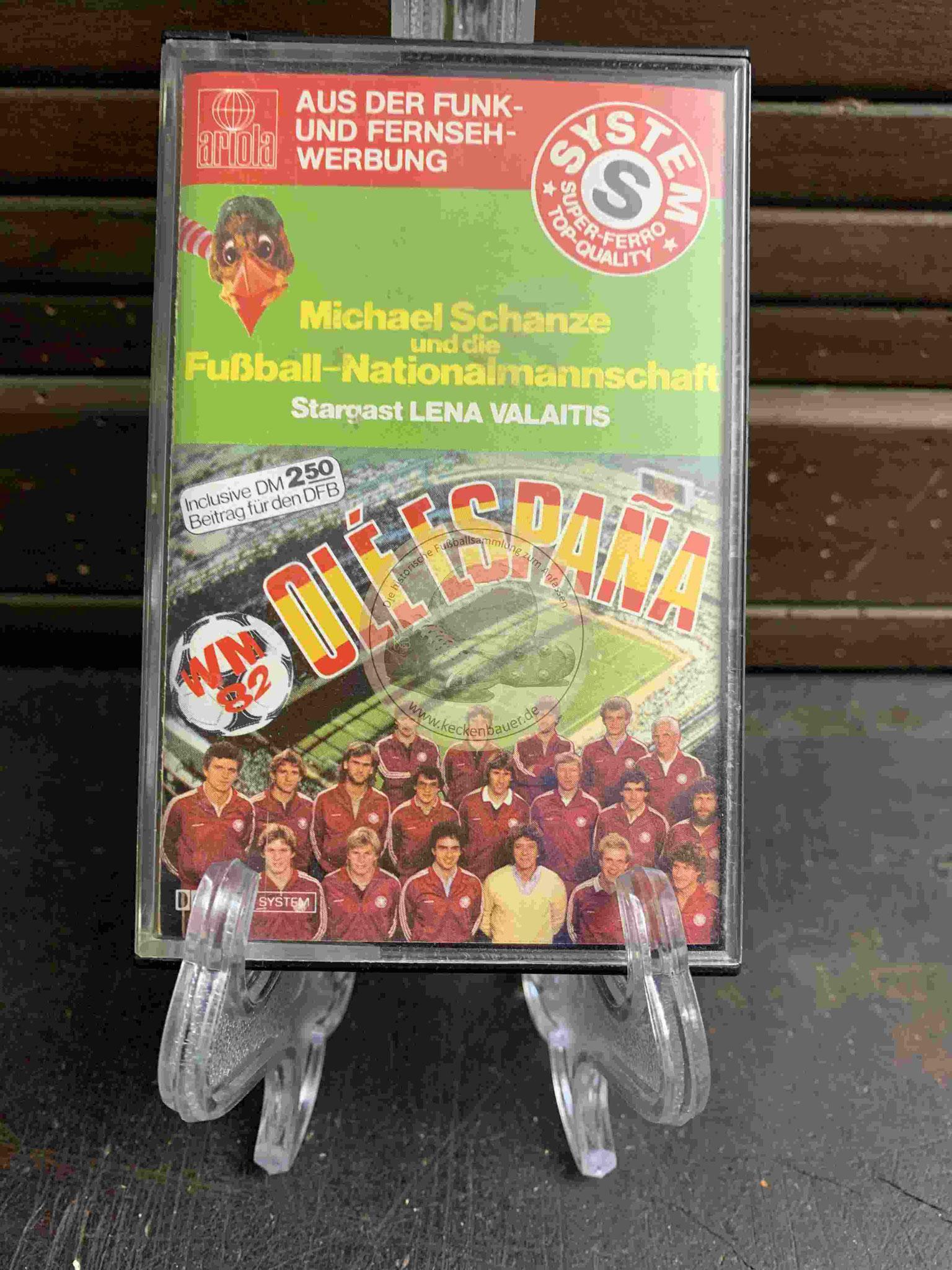 1982 Olé Espana Michael Schanze und die Fußball-Nationalmannschaft