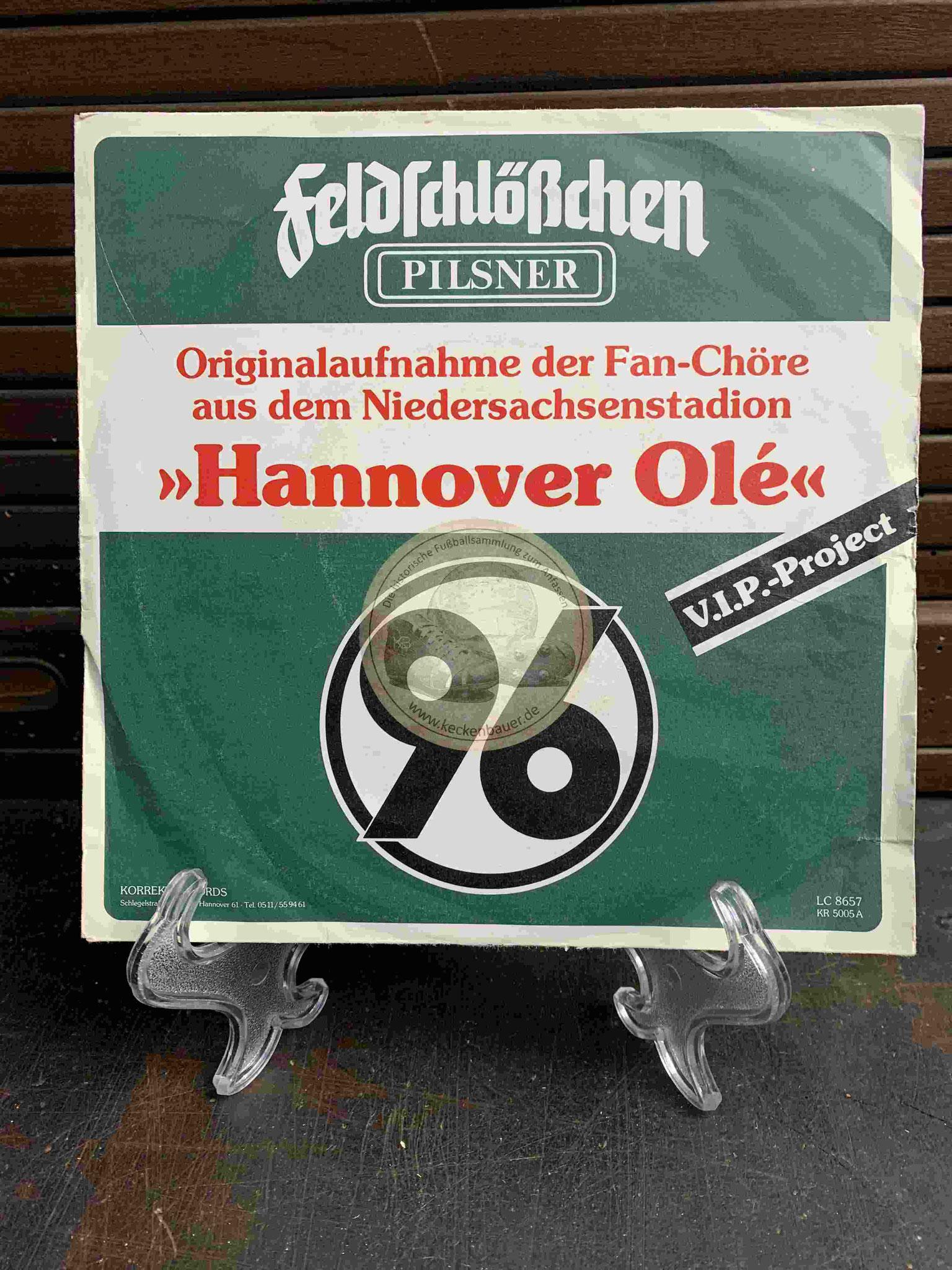 1987 Originalaufnahme der Fan-höre aus dem Niedersachsenstadion Hannover Olé