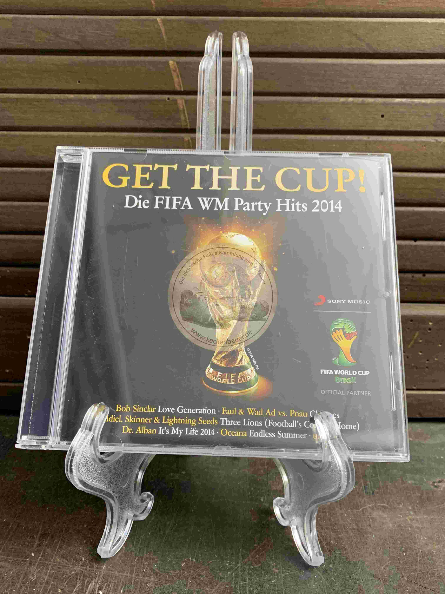 2014 GET THE CUP Die FIFA WM Party Hits 2014