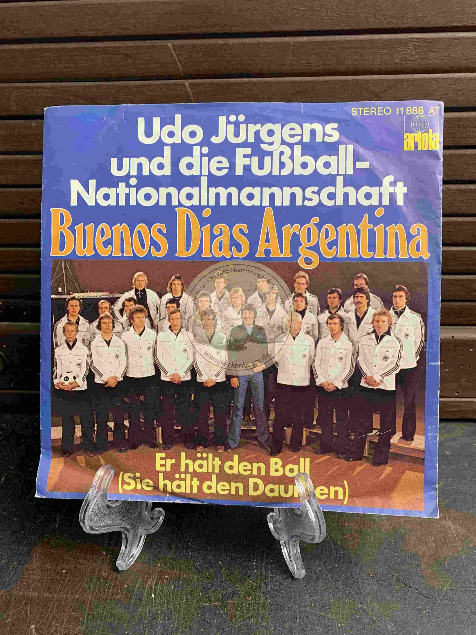 1978 Udo Jürgens und die Fußball-Nationalmannschaft Buenos Dias Argentina