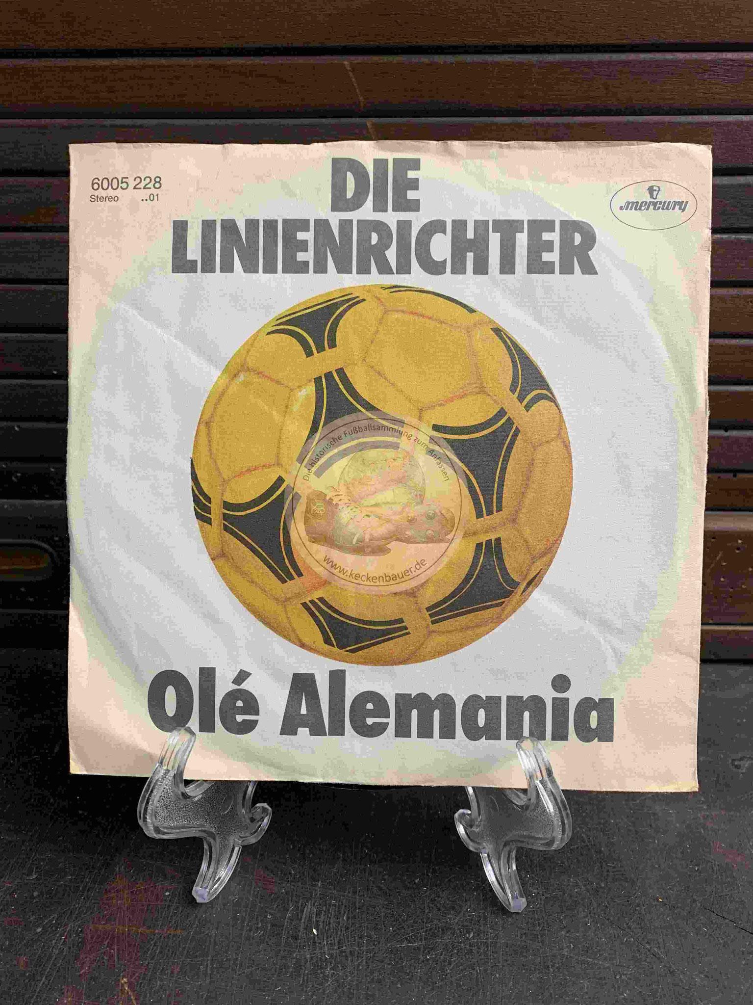 1982 Dien Linienrichter Olé Alemania