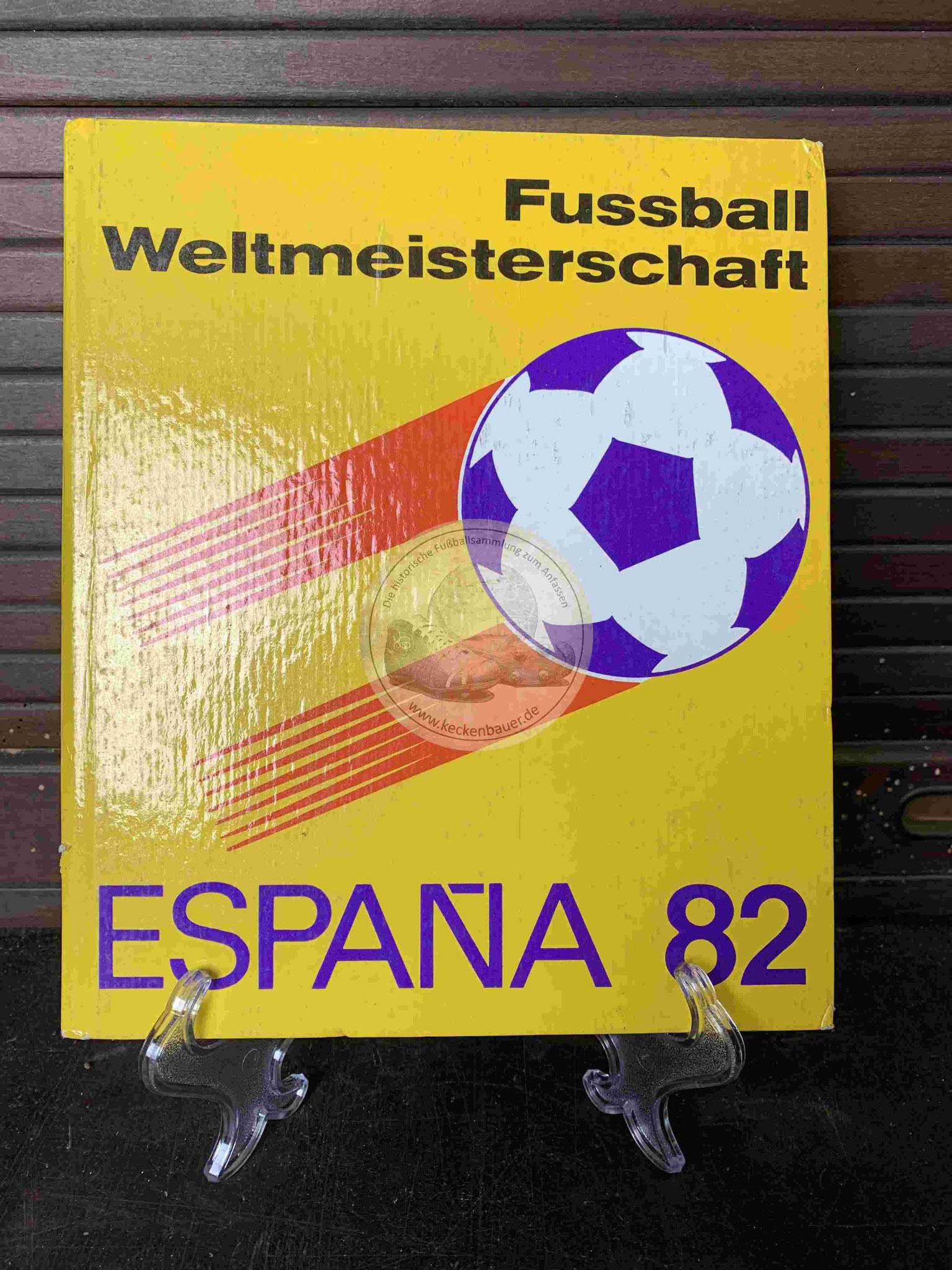 Fussball Weltmeisterschaft Espana 82