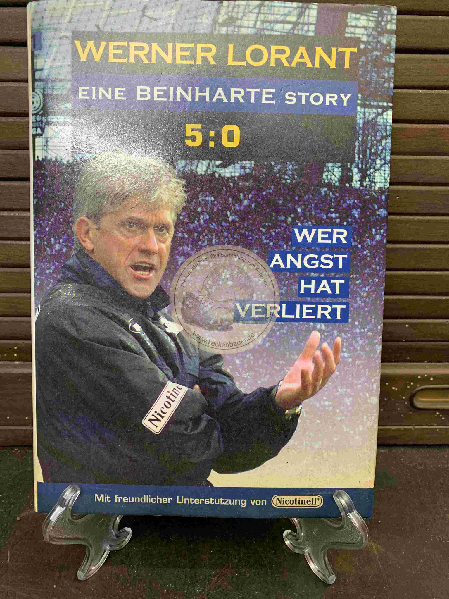 Werner Lorant eine beinharte Story aus dem Jahr 1998